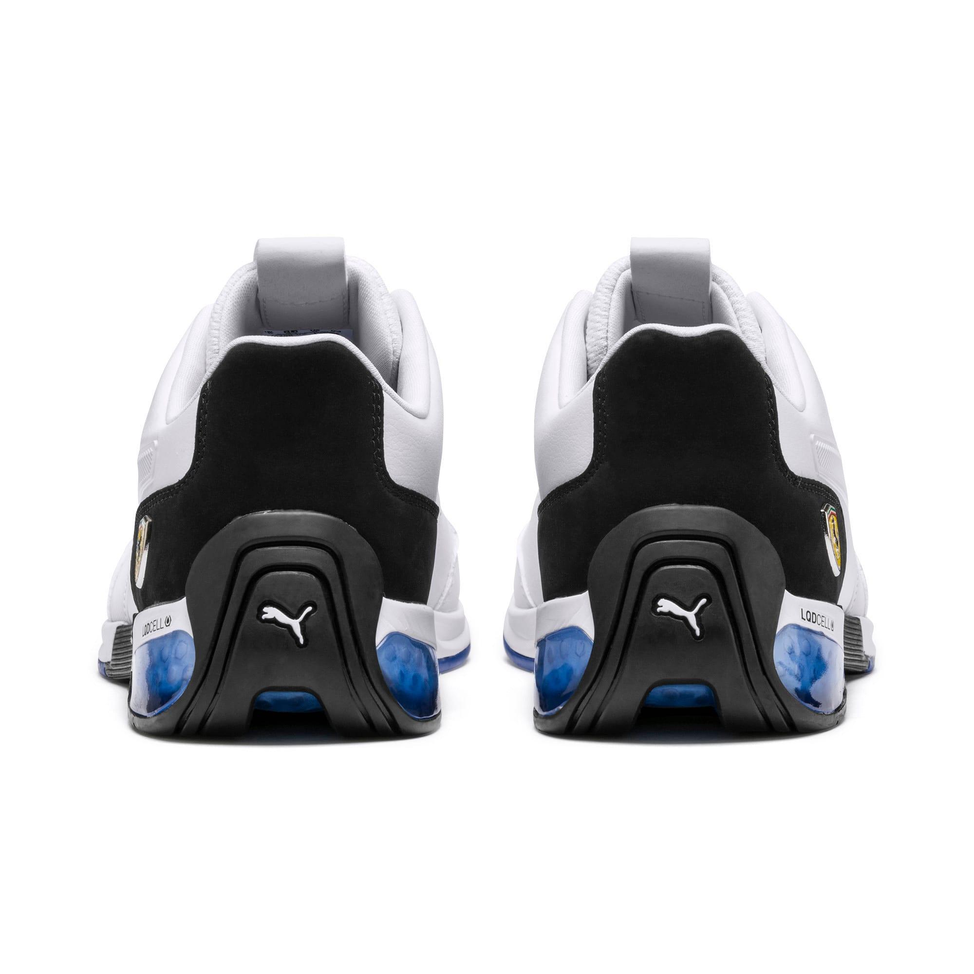 Miniatura 4 de Zapatos de entrenamiento Scuderia Ferrari Kart Cat X, Puma White-Puma Black, mediano