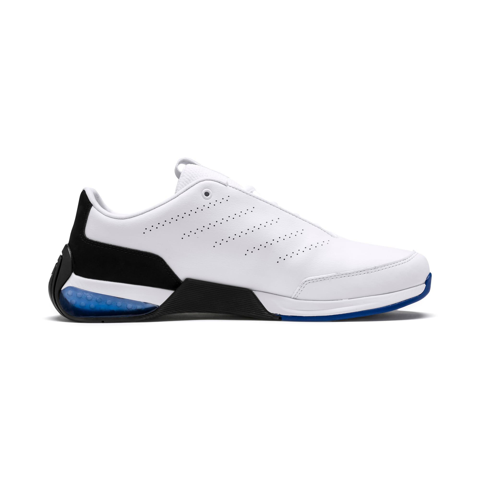 Miniatura 6 de Zapatos de entrenamiento Scuderia Ferrari Kart Cat X, Puma White-Puma Black, mediano