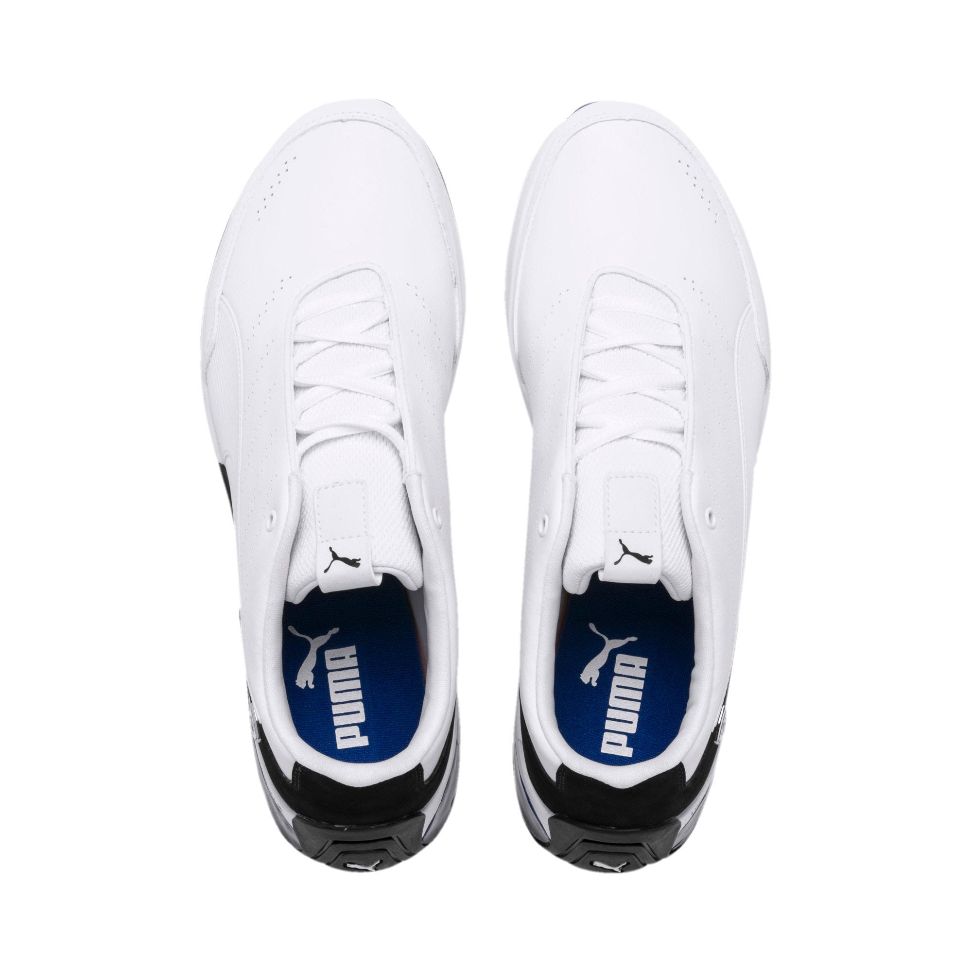 Miniatura 7 de Zapatos de entrenamiento Scuderia Ferrari Kart Cat X, Puma White-Puma Black, mediano