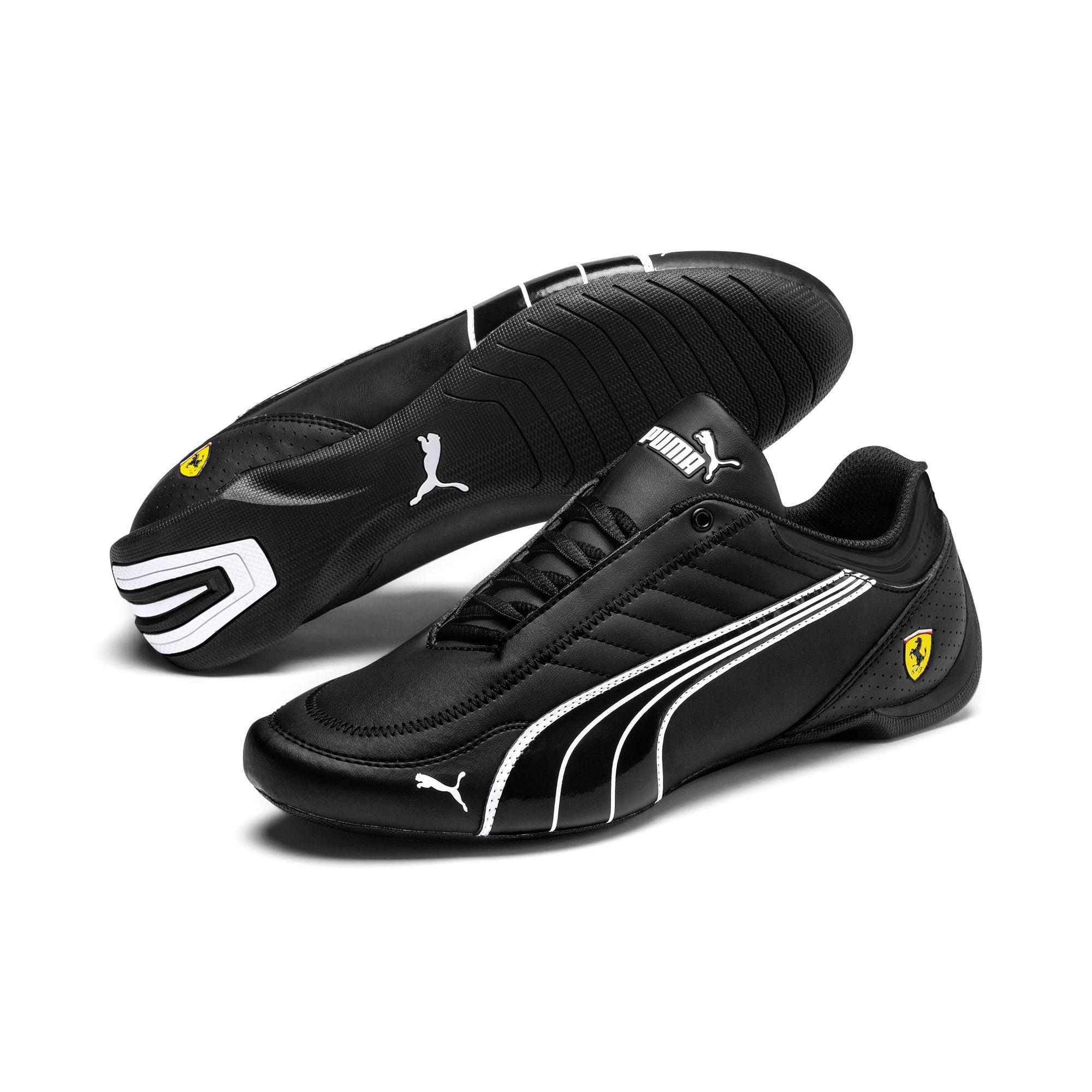 Thumbnail 3 of Scuderia Ferrari Future Kart Cat Shoes, Black-Puma White-Rosso Corsa, medium