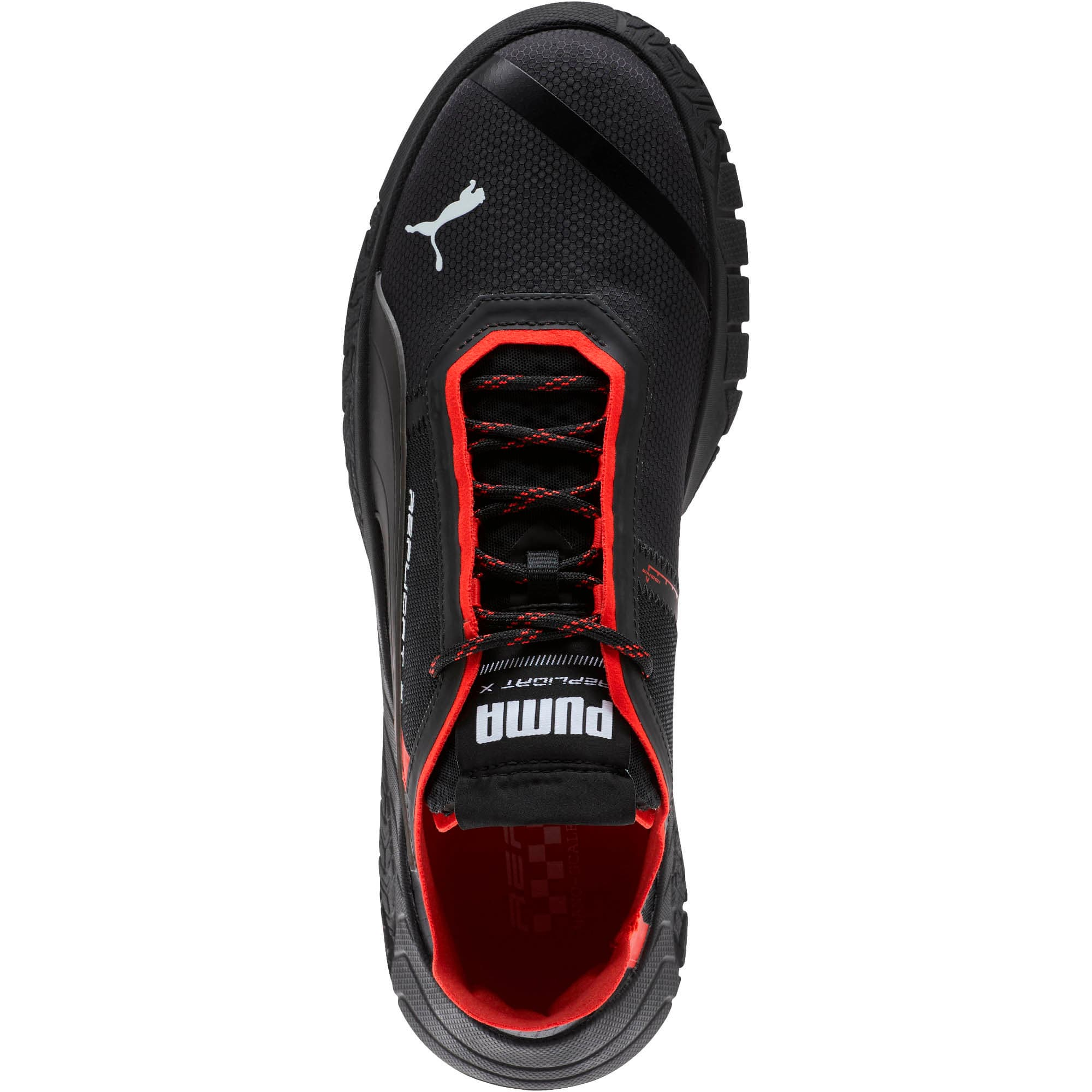 Thumbnail 4 of Replicat-X Circuit Trainers, Puma Black-Puma Red, medium