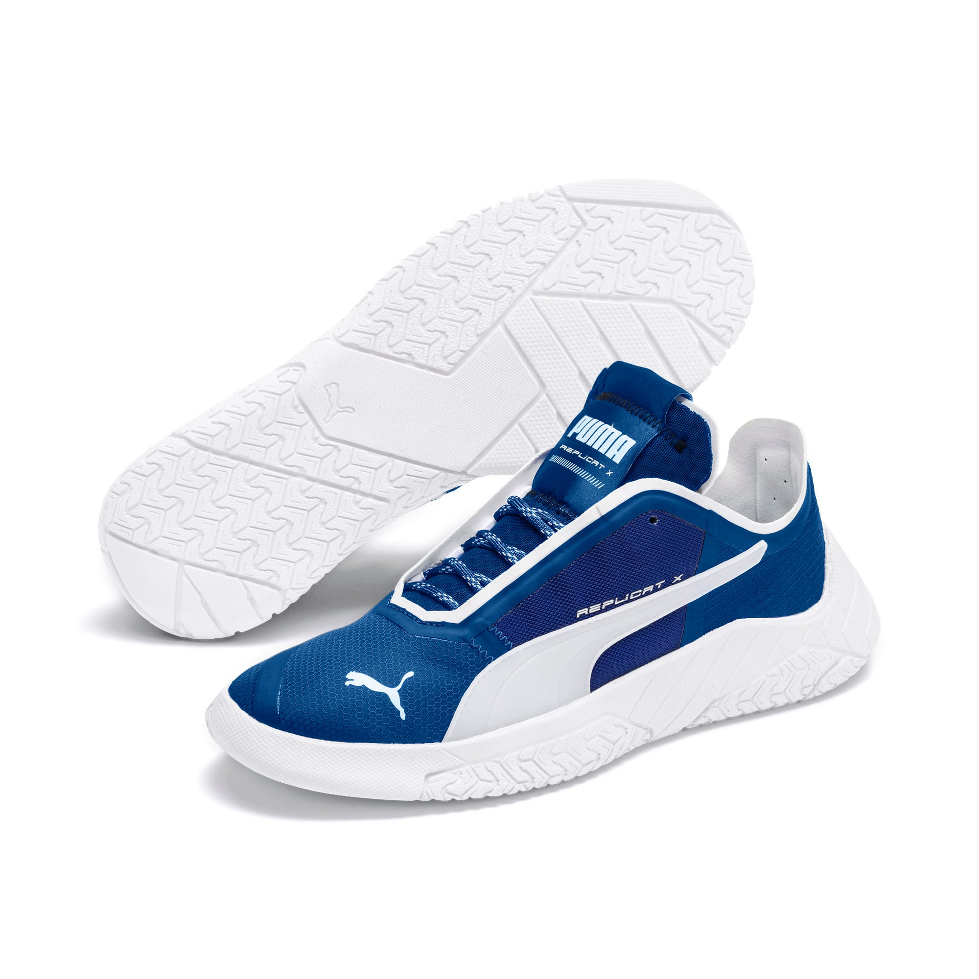 Thumbnail 2 of Basket Replicat-X Circuit, Galaxy Blue-Puma White, medium