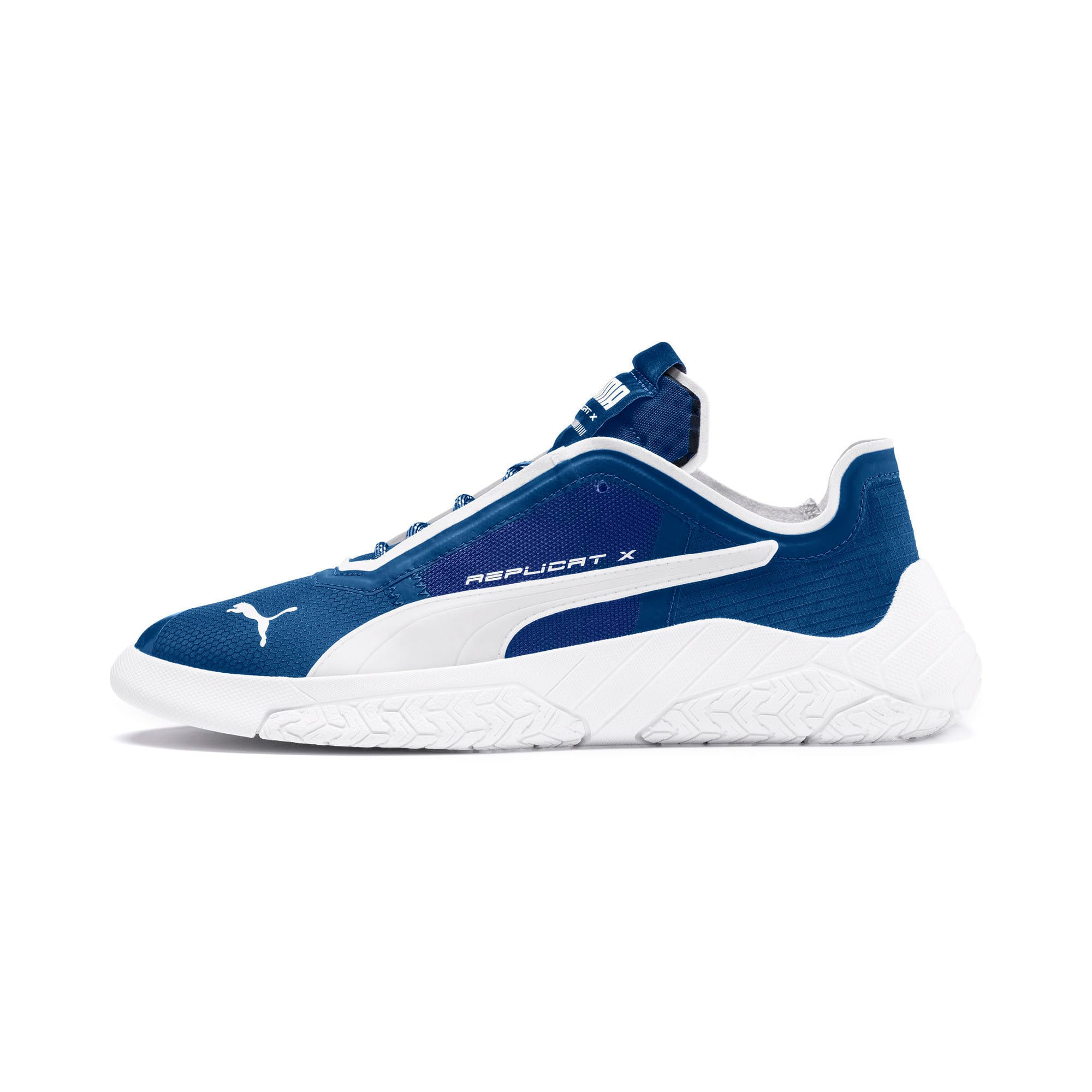 Thumbnail 1 of Basket Replicat-X Circuit, Galaxy Blue-Puma White, medium