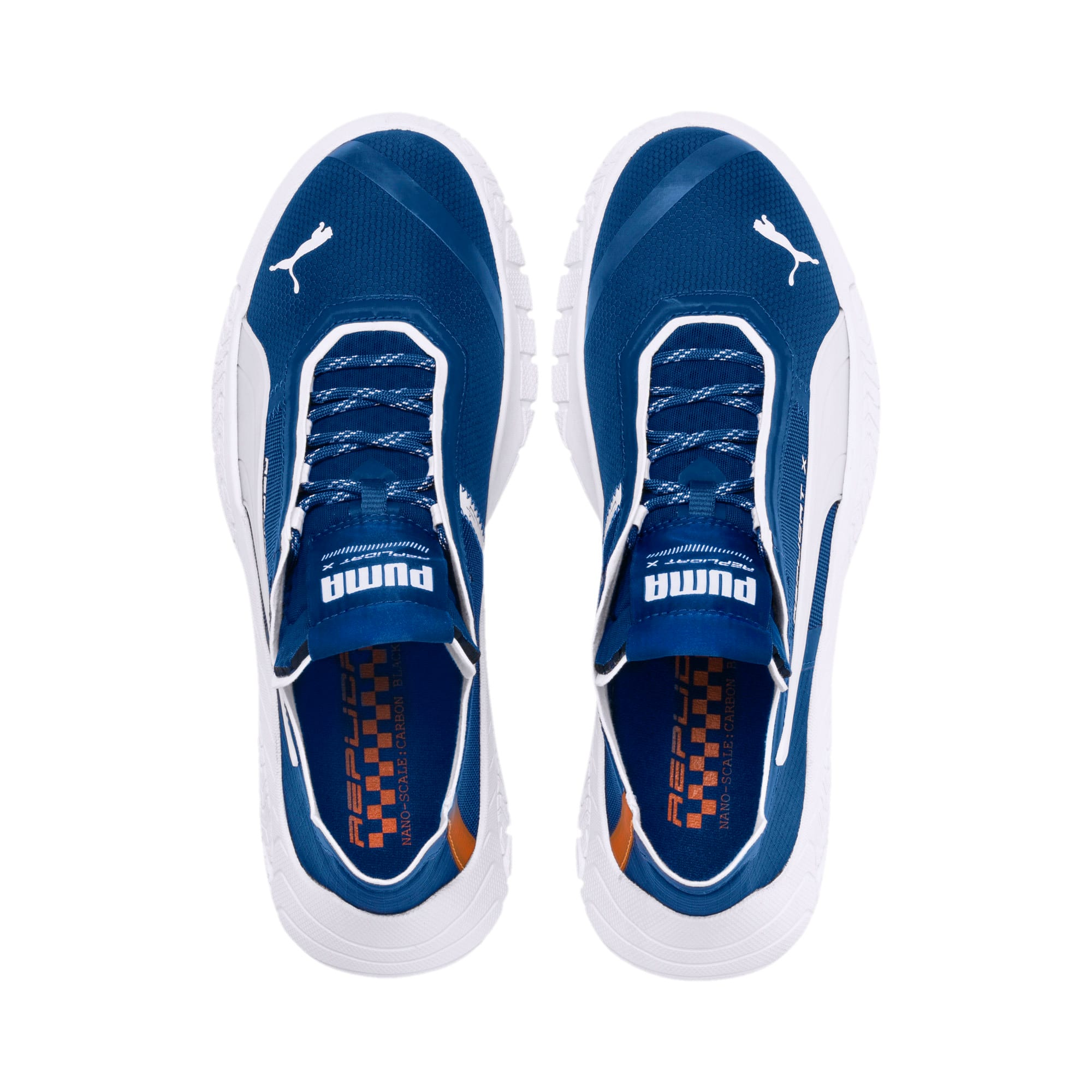 Thumbnail 6 of Basket Replicat-X Circuit, Galaxy Blue-Puma White, medium