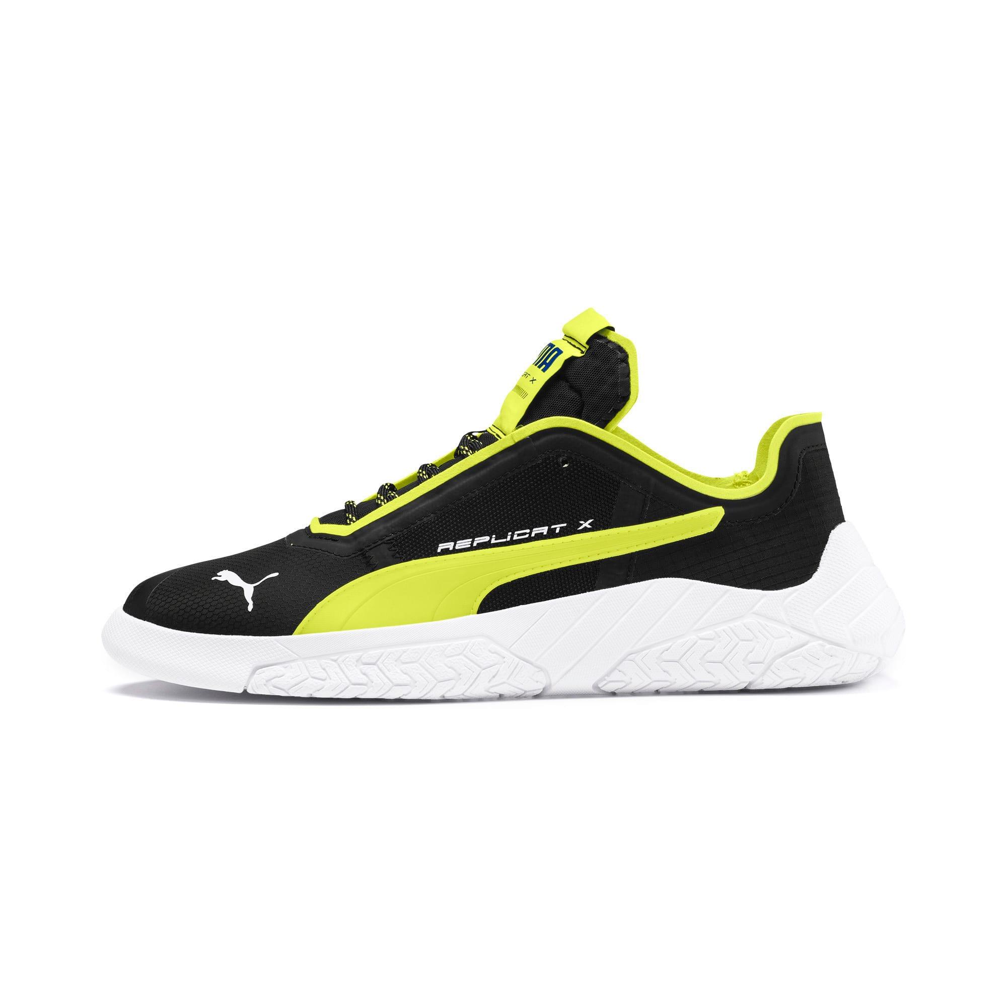 Thumbnail 1 of Replicat-X Circuit Motorsport Shoes, Black-Fizzy Yellow-White, medium