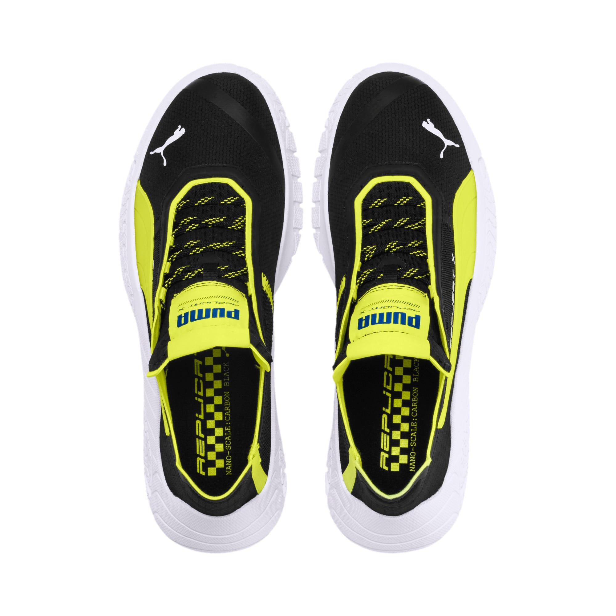 Thumbnail 6 of Replicat-X Circuit Motorsport Shoes, Black-Fizzy Yellow-White, medium