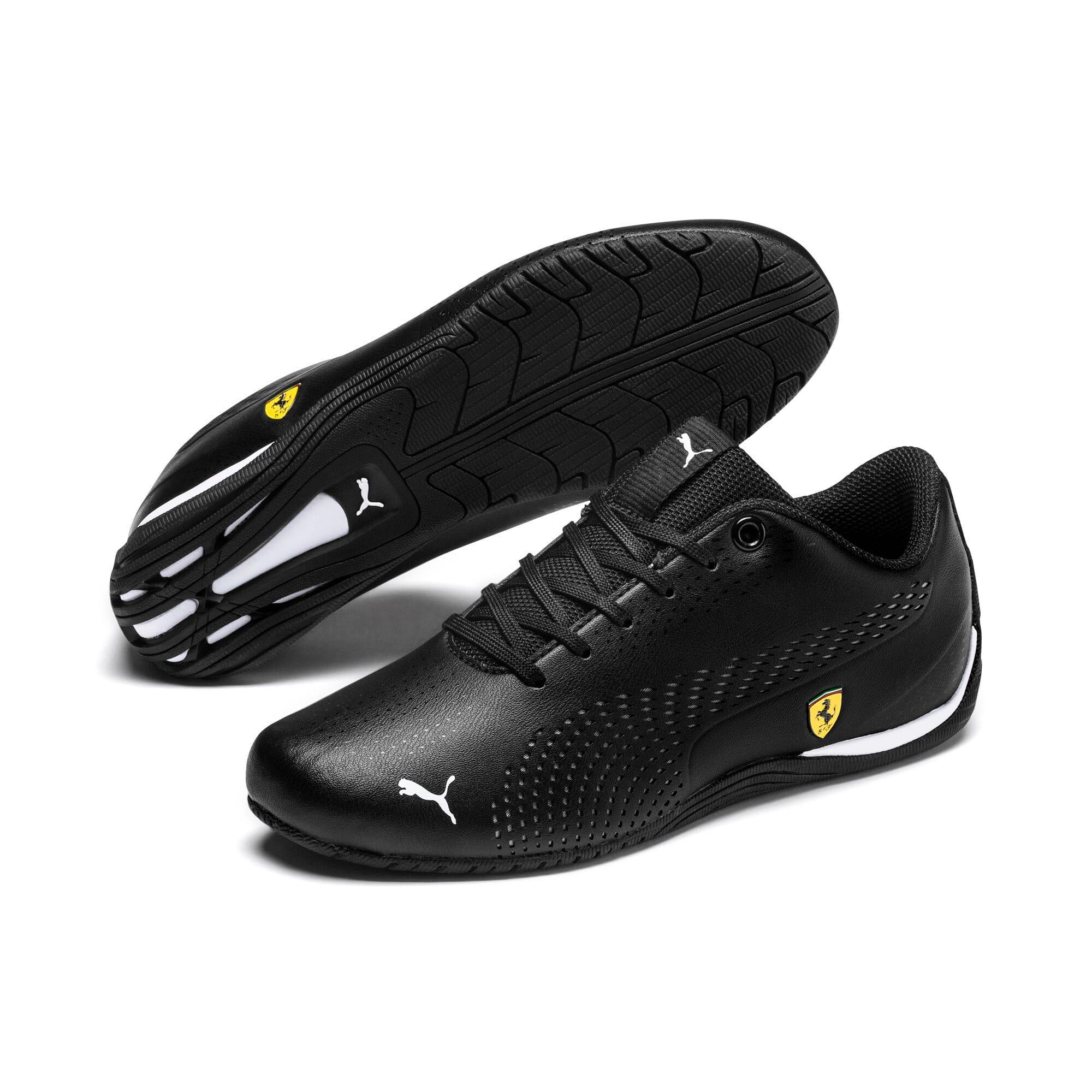 Thumbnail 2 of Scuderia Ferrari Drift Cat 5 Ultra II Shoes JR, Puma Black-Puma White, medium