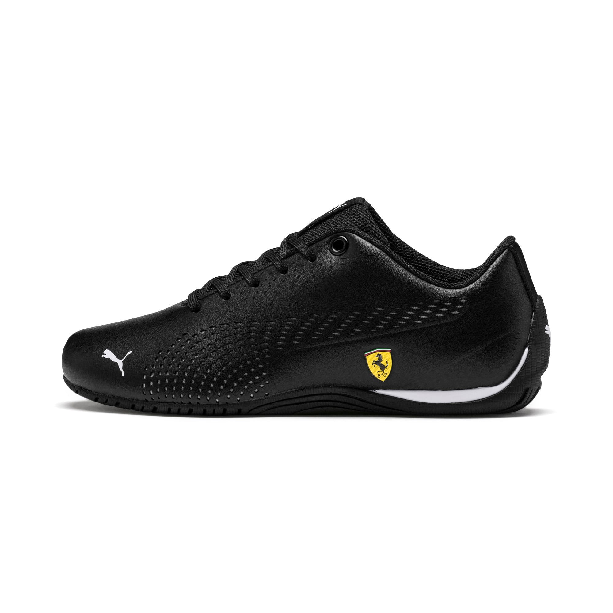 Thumbnail 1 of Ferrari Drift Cat 5 Ultra II Youth Sneaker, Puma Black-Puma White, medium