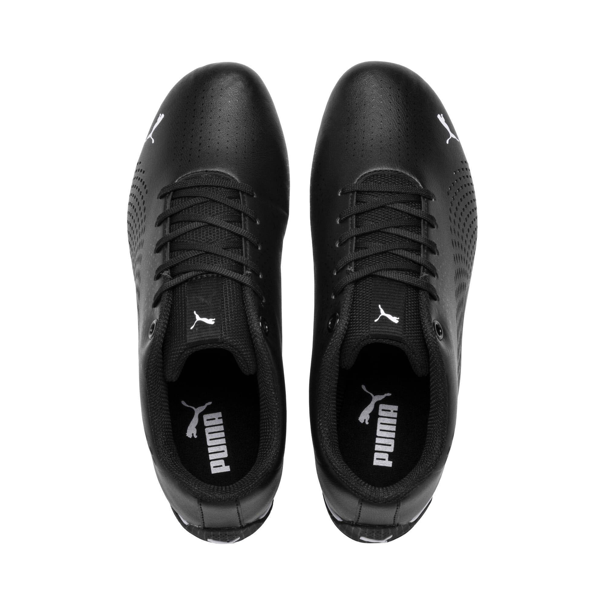 Thumbnail 6 of Ferrari Drift Cat 5 Ultra II Youth Sneaker, Puma Black-Puma White, medium