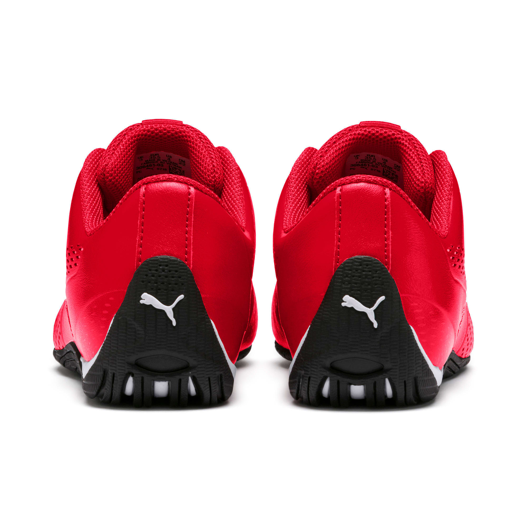 Thumbnail 3 of Scuderia Ferrari Drift Cat 5 Ultra II Shoes JR, Rosso Corsa-Puma White, medium