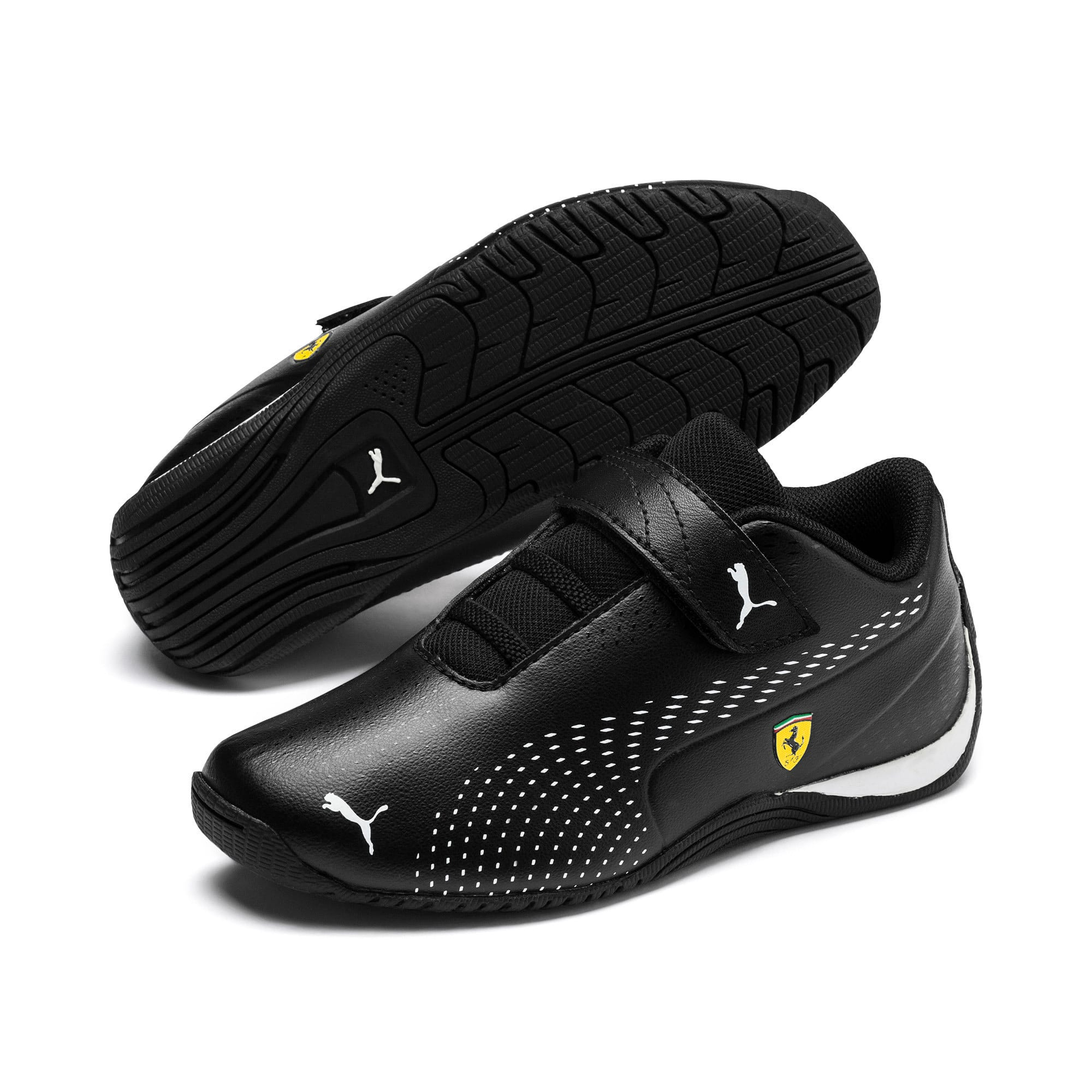 Thumbnail 2 of Ferrari Drift Cat 5 Ultra II V Kids' Trainers, Puma Black-Puma White, medium