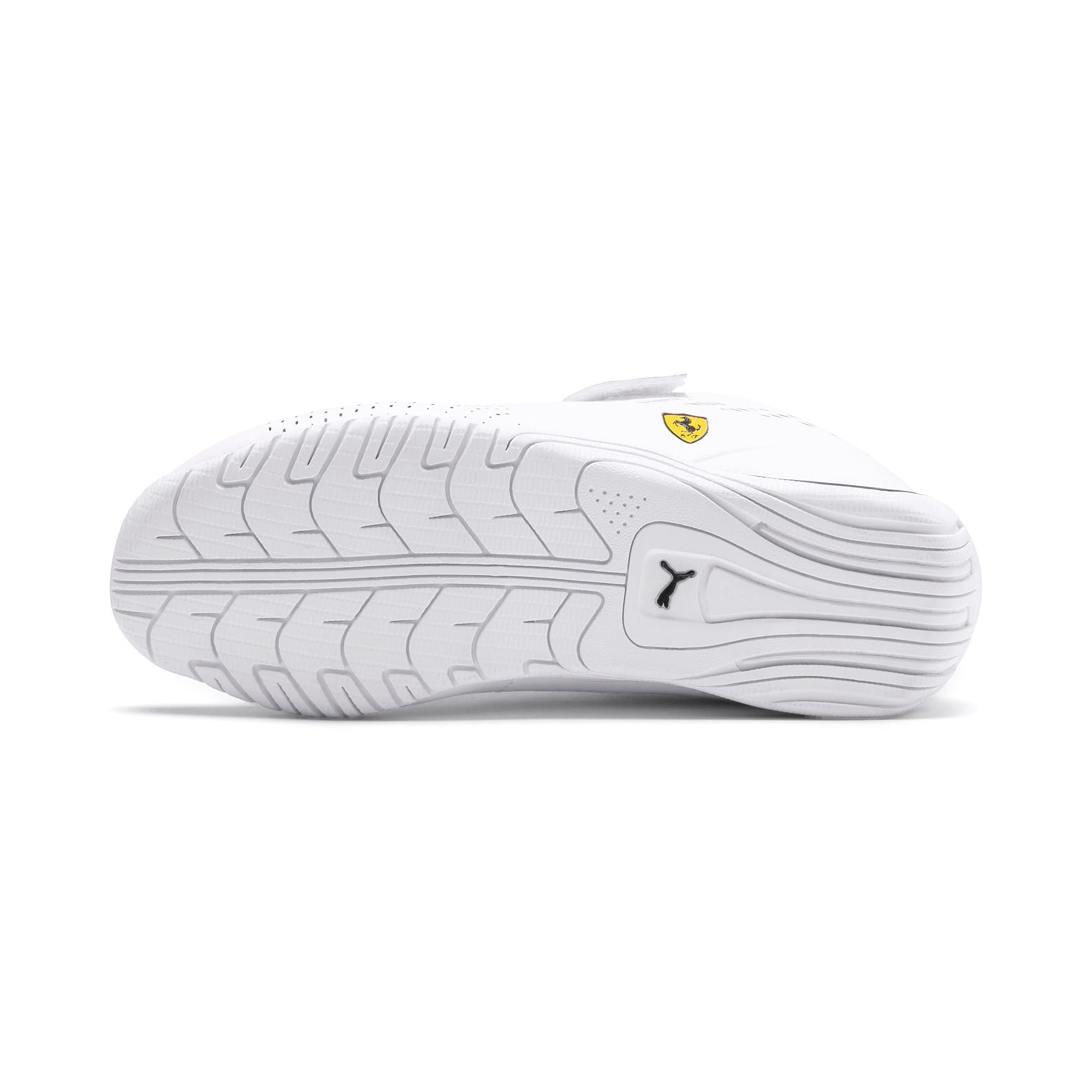 Thumbnail 4 of Ferrari Drift Cat 5 Ultra II V Kids Sneaker, Puma White-Puma Black, medium