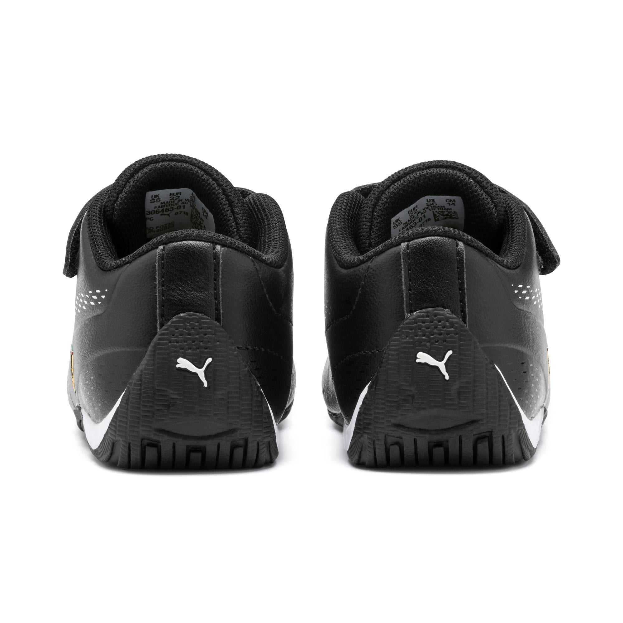 Thumbnail 3 of Scuderia Ferrari Drift Cat 5 Ultra II Toddler Shoes, Puma Black-Puma White, medium