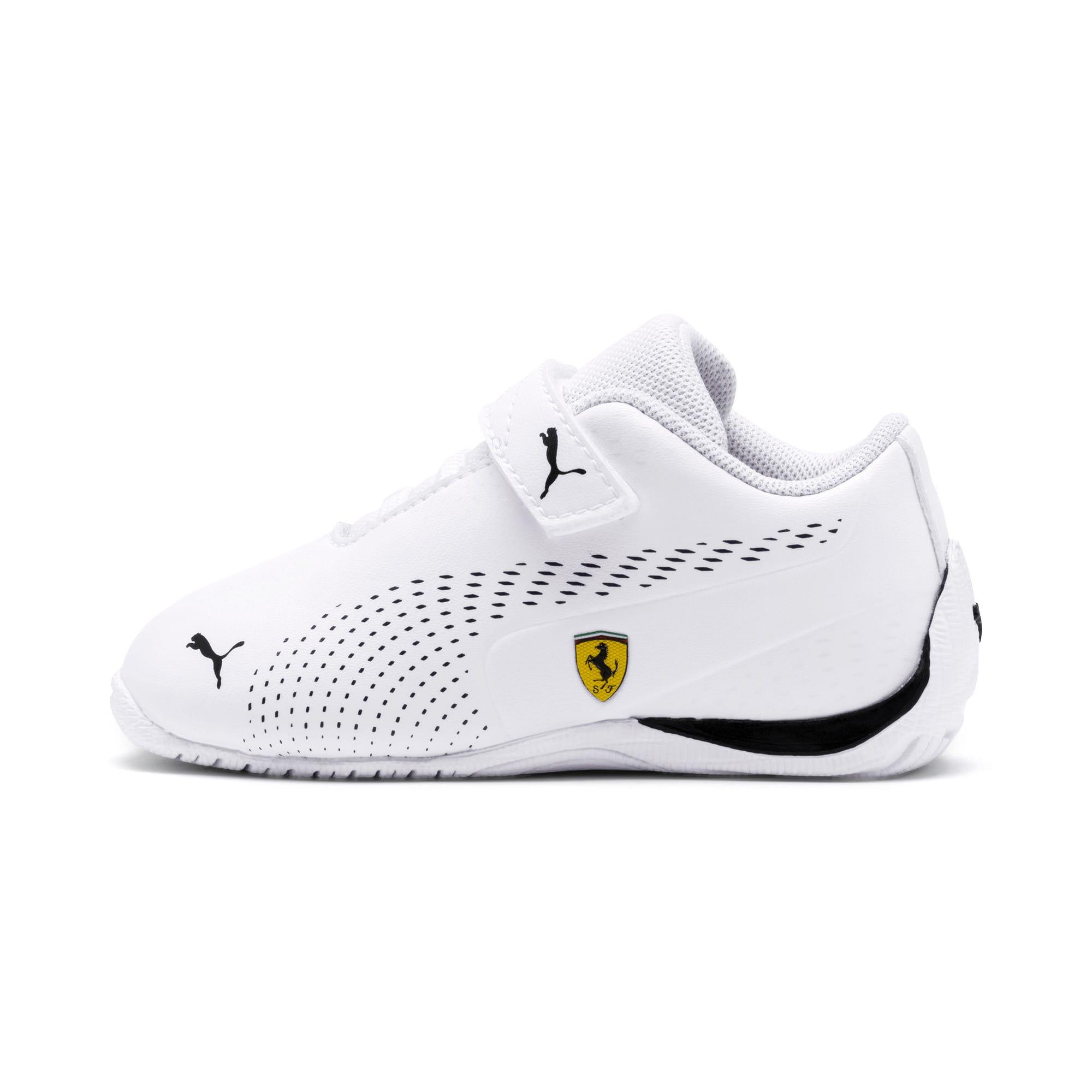 Thumbnail 1 of Scuderia Ferrari Drift Cat 5 Ultra II Toddler Shoes, Puma White-Puma Black, medium