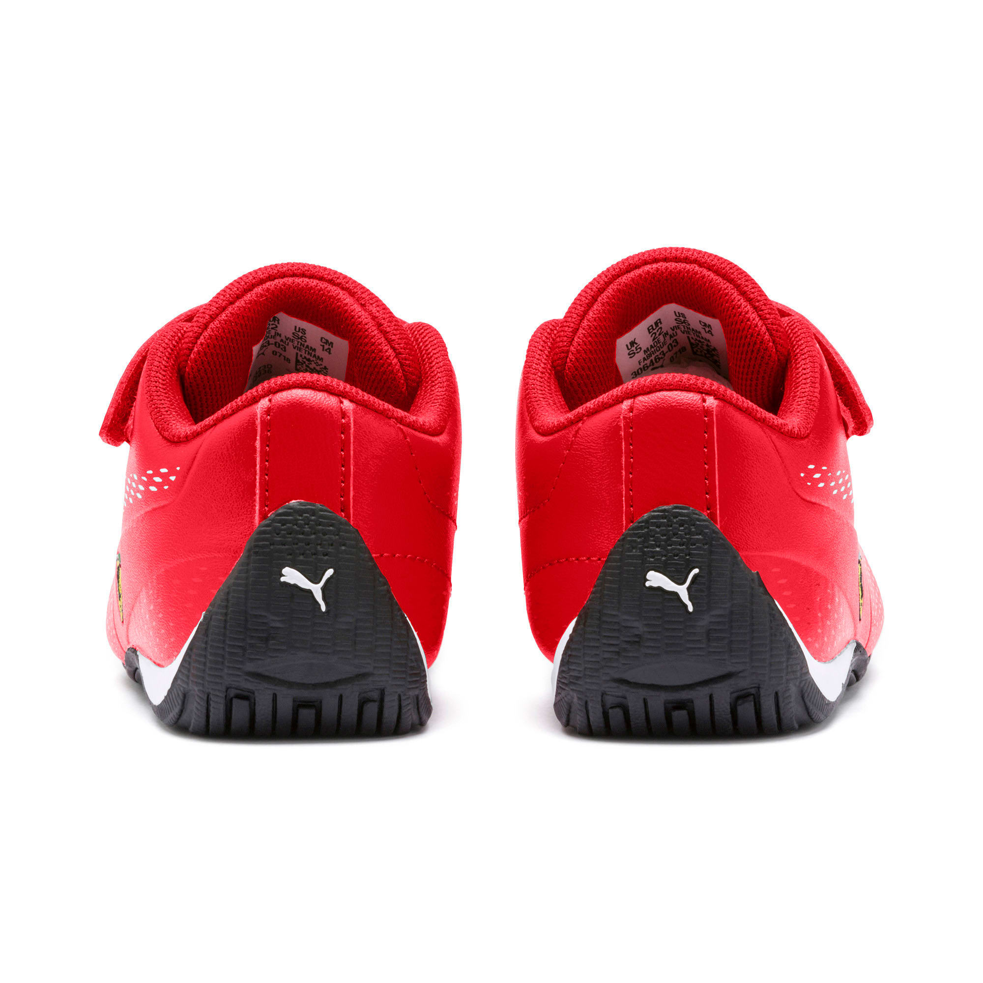 Thumbnail 4 of Scuderia Ferrari Drift Cat 5 Ultra II Toddler Shoes, Rosso Corsa-Puma White, medium