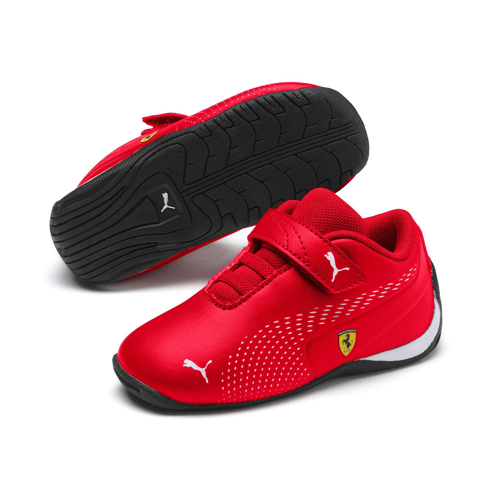 Thumbnail 2 of Scuderia Ferrari Drift Cat 5 Ultra II Toddler Shoes, Rosso Corsa-Puma White, medium