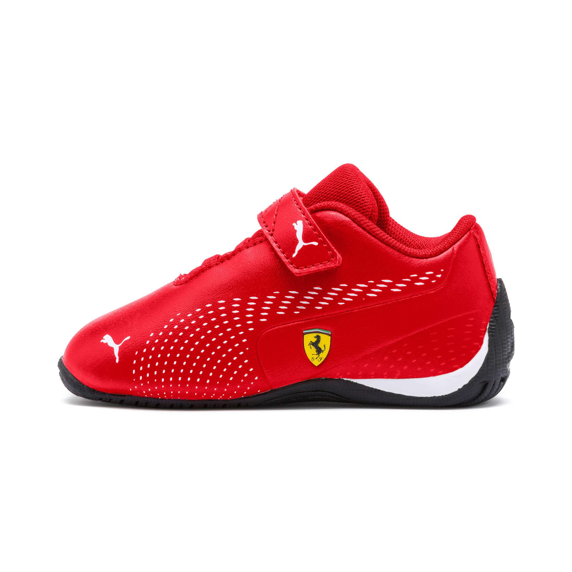 Thumbnail 1 of Scuderia Ferrari Drift Cat 5 Ultra II Toddler Shoes, Rosso Corsa-Puma White, medium