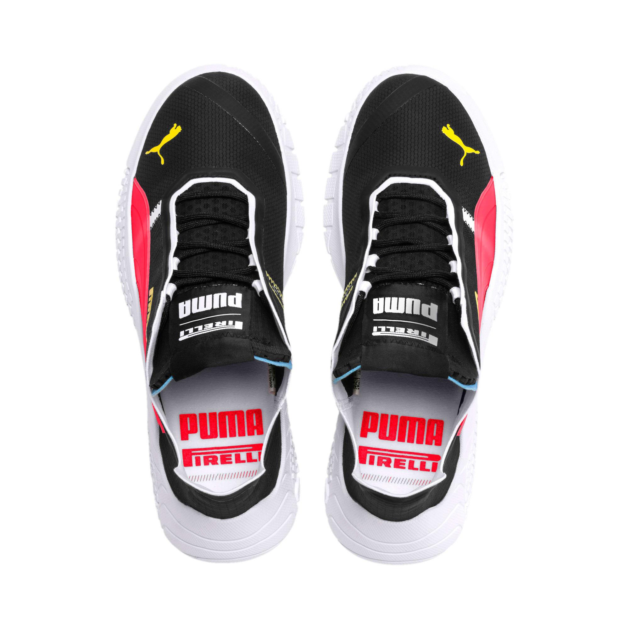 Thumbnail 8 of Replicat-X Pirelli v2 Motorsport Shoes, Black-Puma Red- White, medium