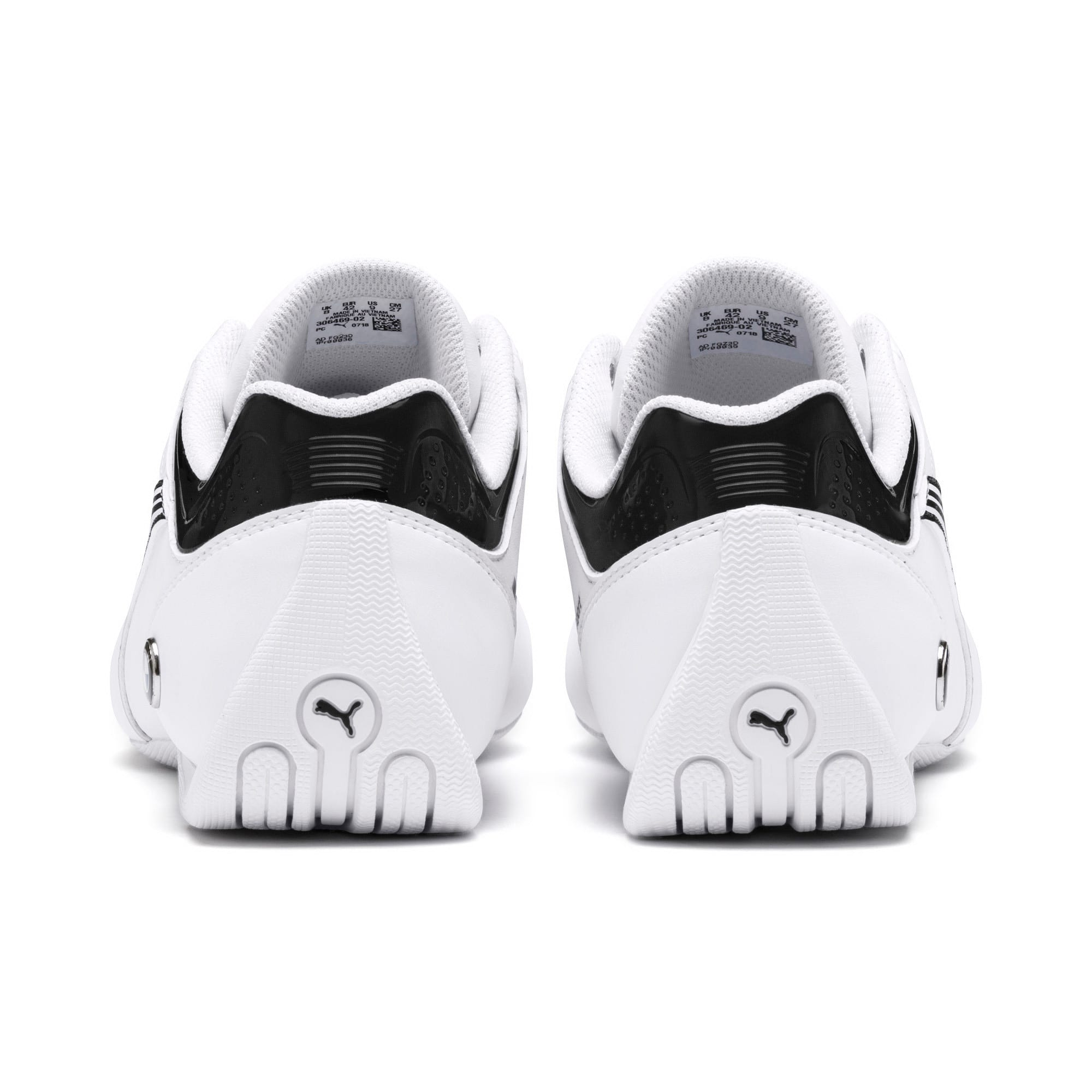 Miniatura 4 de Zapatos BMW M Motorsport Future Kart Cat, Puma White-Puma Black, mediano