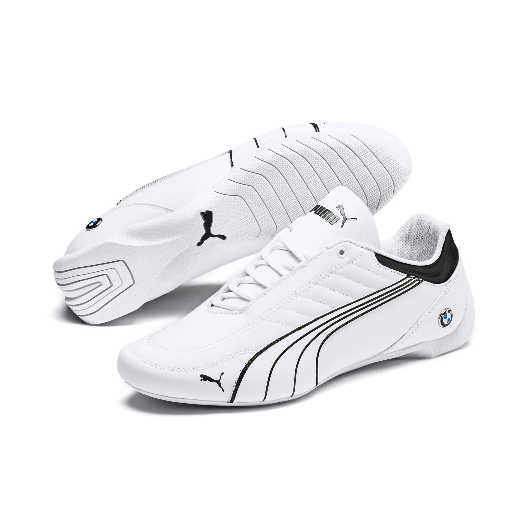 Miniatura 3 de Zapatos BMW M Motorsport Future Kart Cat, Puma White-Puma Black, mediano