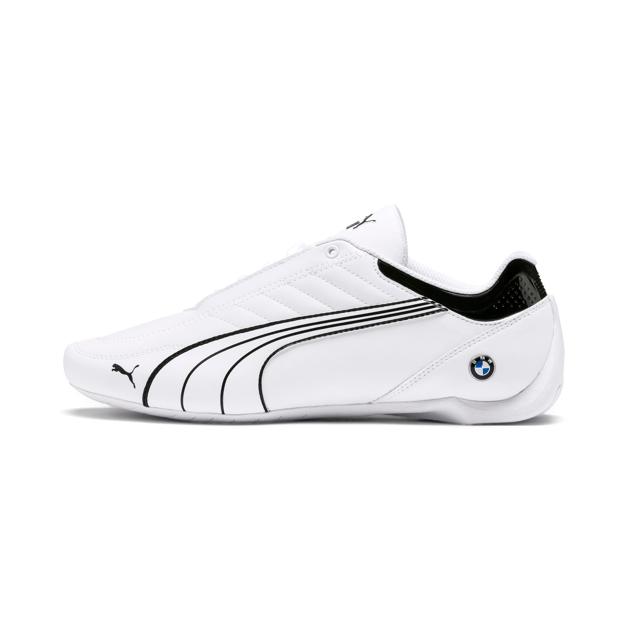 Miniatura 1 de Zapatos BMW M Motorsport Future Kart Cat, Puma White-Puma Black, mediano