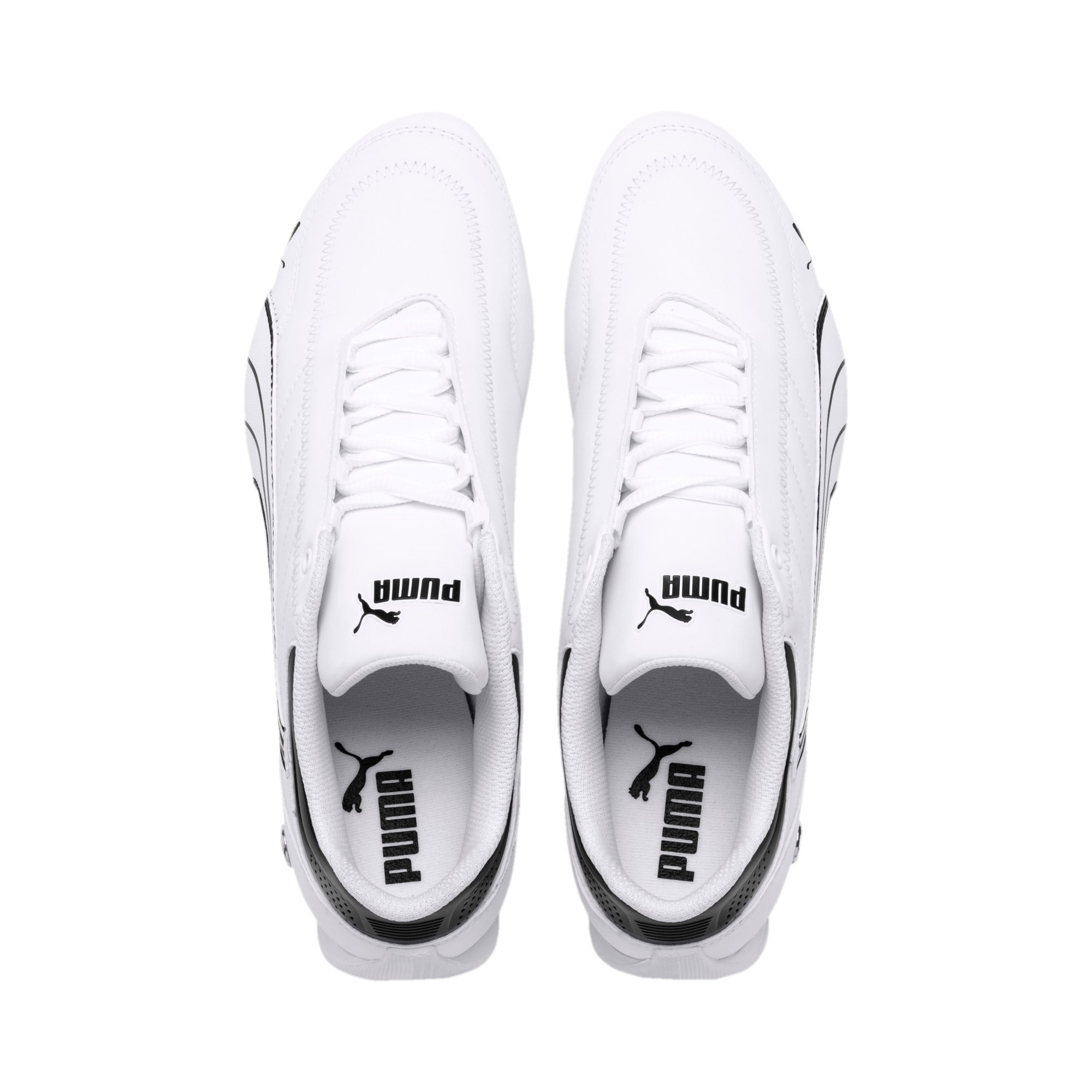 Miniatura 7 de Zapatos BMW M Motorsport Future Kart Cat, Puma White-Puma Black, mediano