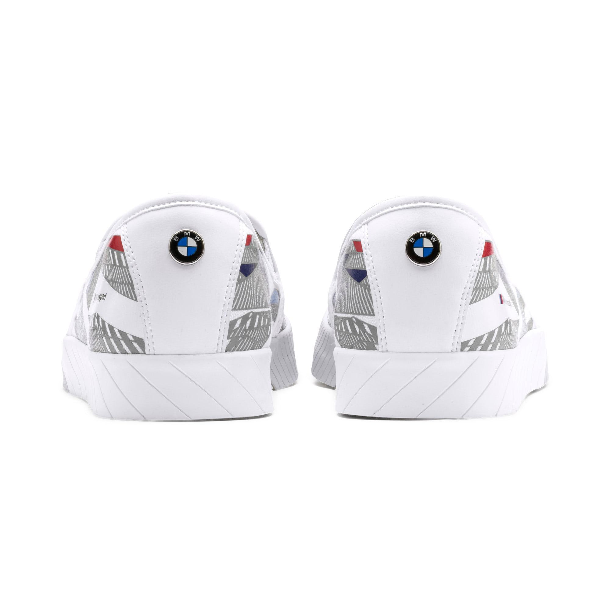 Thumbnail 4 of BMW M Motorsport Slip-On Gradient Track Shoes, Puma White-Gray Violet, medium