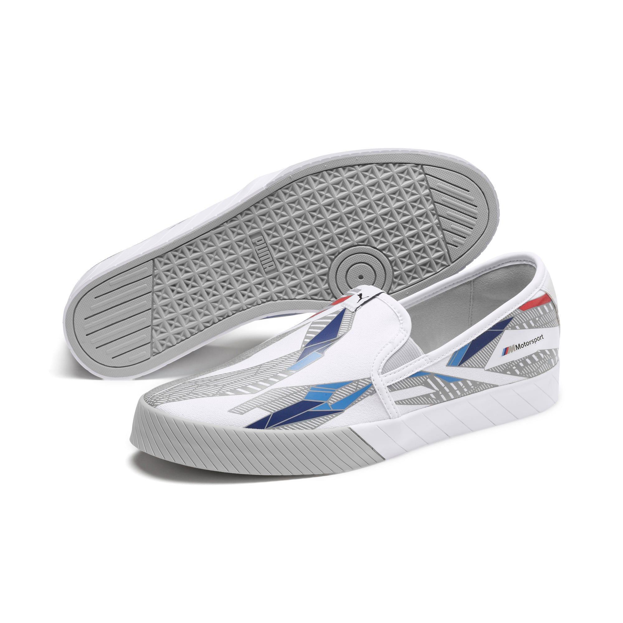 Thumbnail 3 of BMW M Motorsport Slip-On Gradient Track Shoes, Puma White-Gray Violet, medium