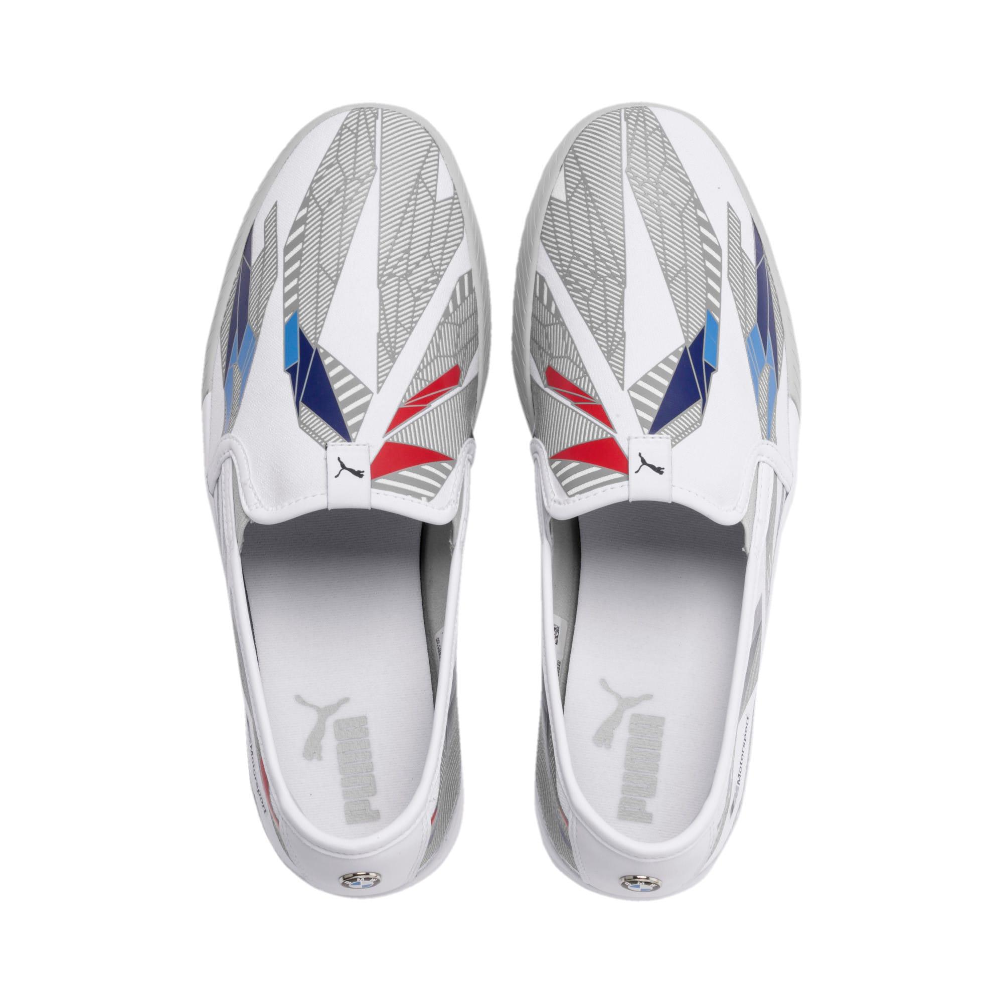 Thumbnail 7 of BMW M Motorsport Slip-On Gradient Track Shoes, Puma White-Gray Violet, medium
