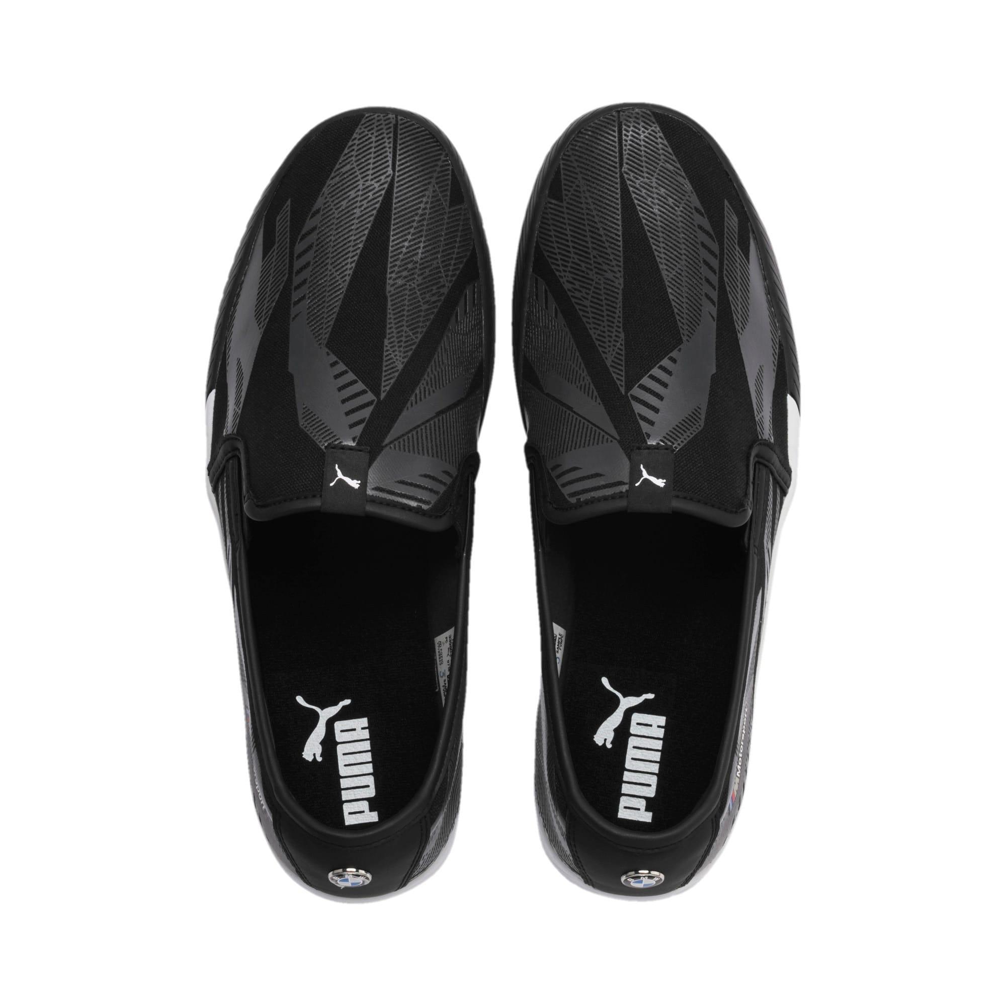 Thumbnail 7 of BMW M Motorsport Slip-On Gradient Track Shoes, Puma Black-Puma Black, medium