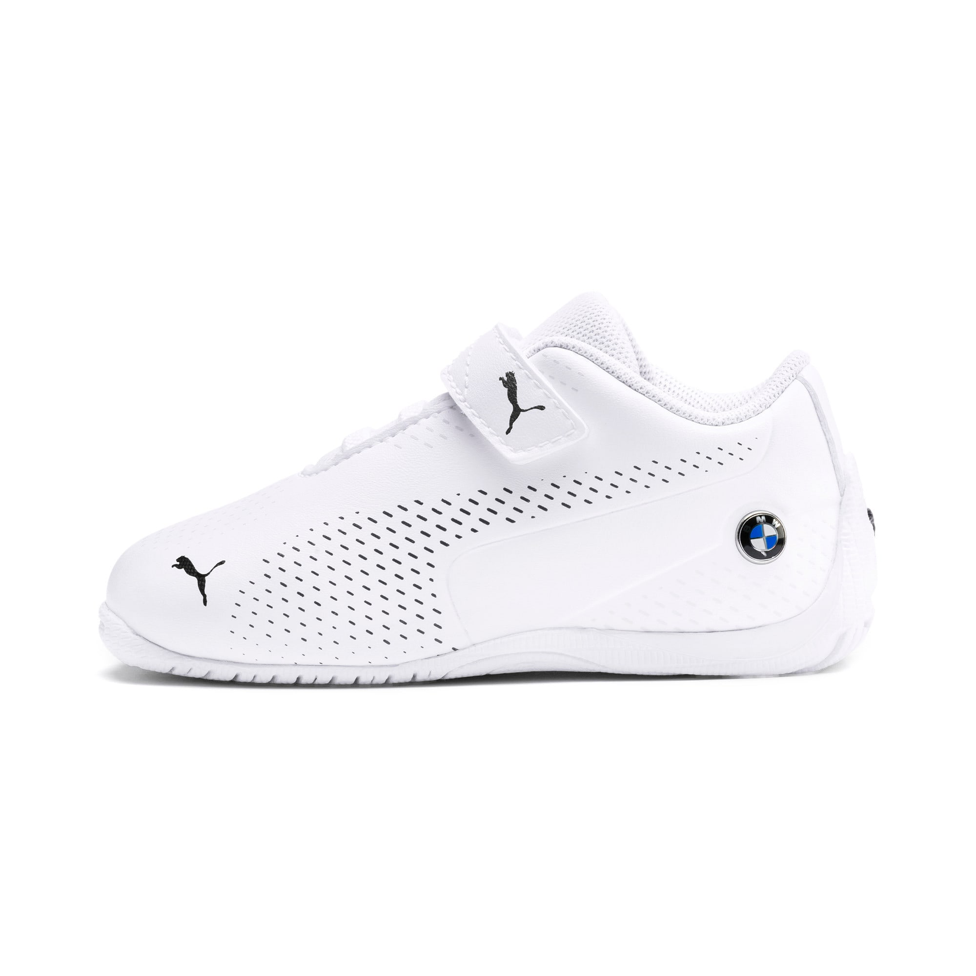 Thumbnail 1 of BMW M Motorsport Drift Cat 5 Ultra II Toddler Shoes, Puma White-Puma Black, medium