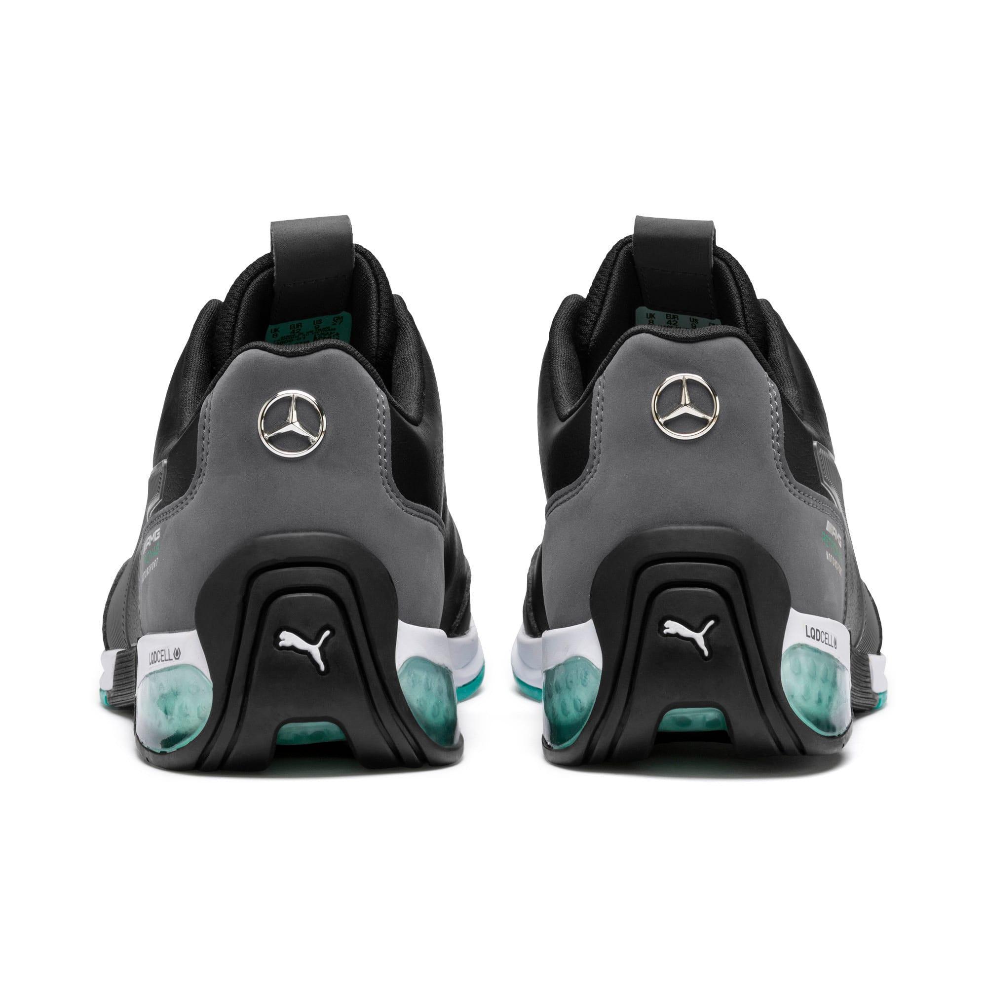 Thumbnail 4 of Mercedes AMG Petronas Motorsport Kart Cat X Trainers, Puma Black-Smoked Pearl, medium