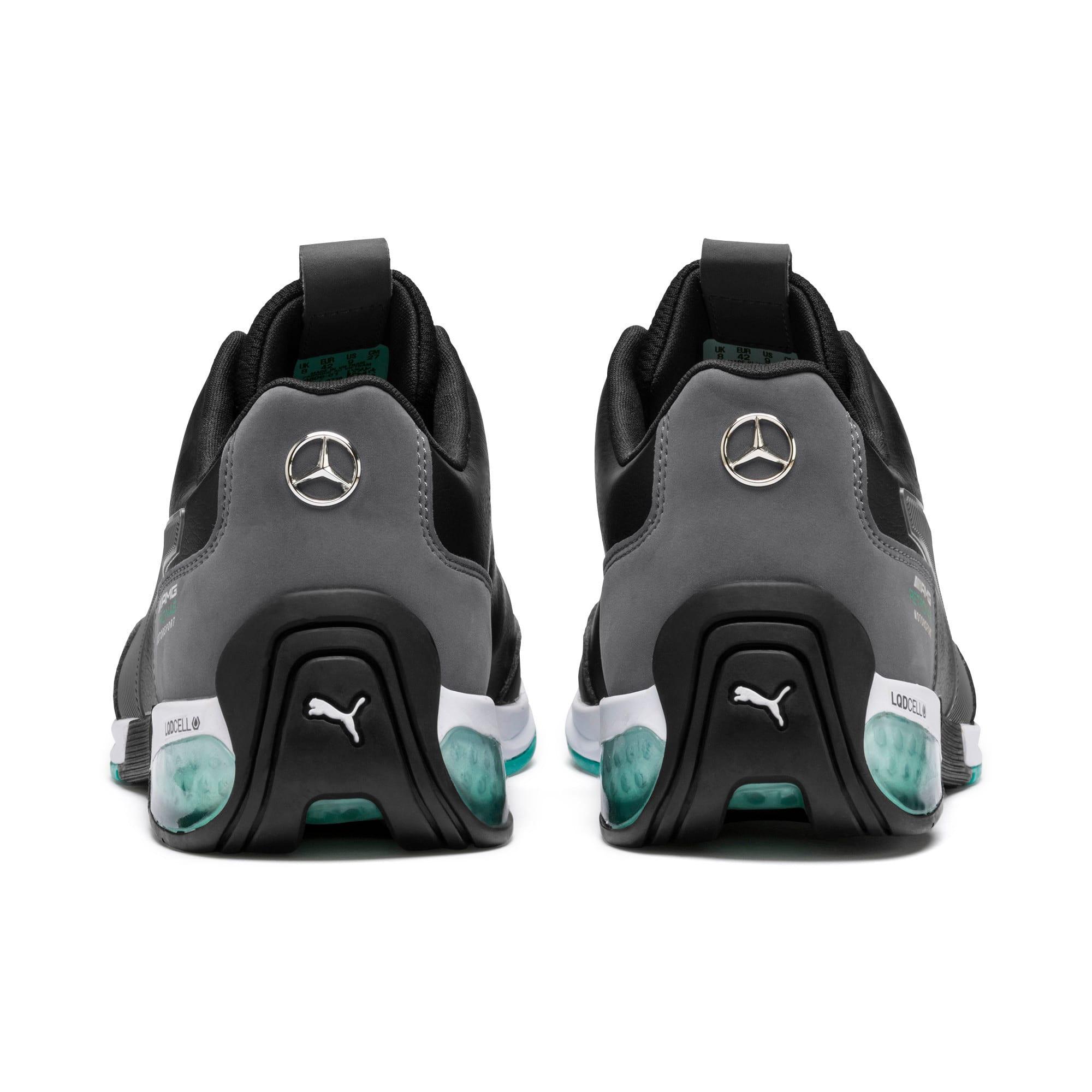 Thumbnail 4 of Mercedes AMG Petronas Kart Cat X Men's Training Shoes, Puma Black-Smoked Pearl, medium