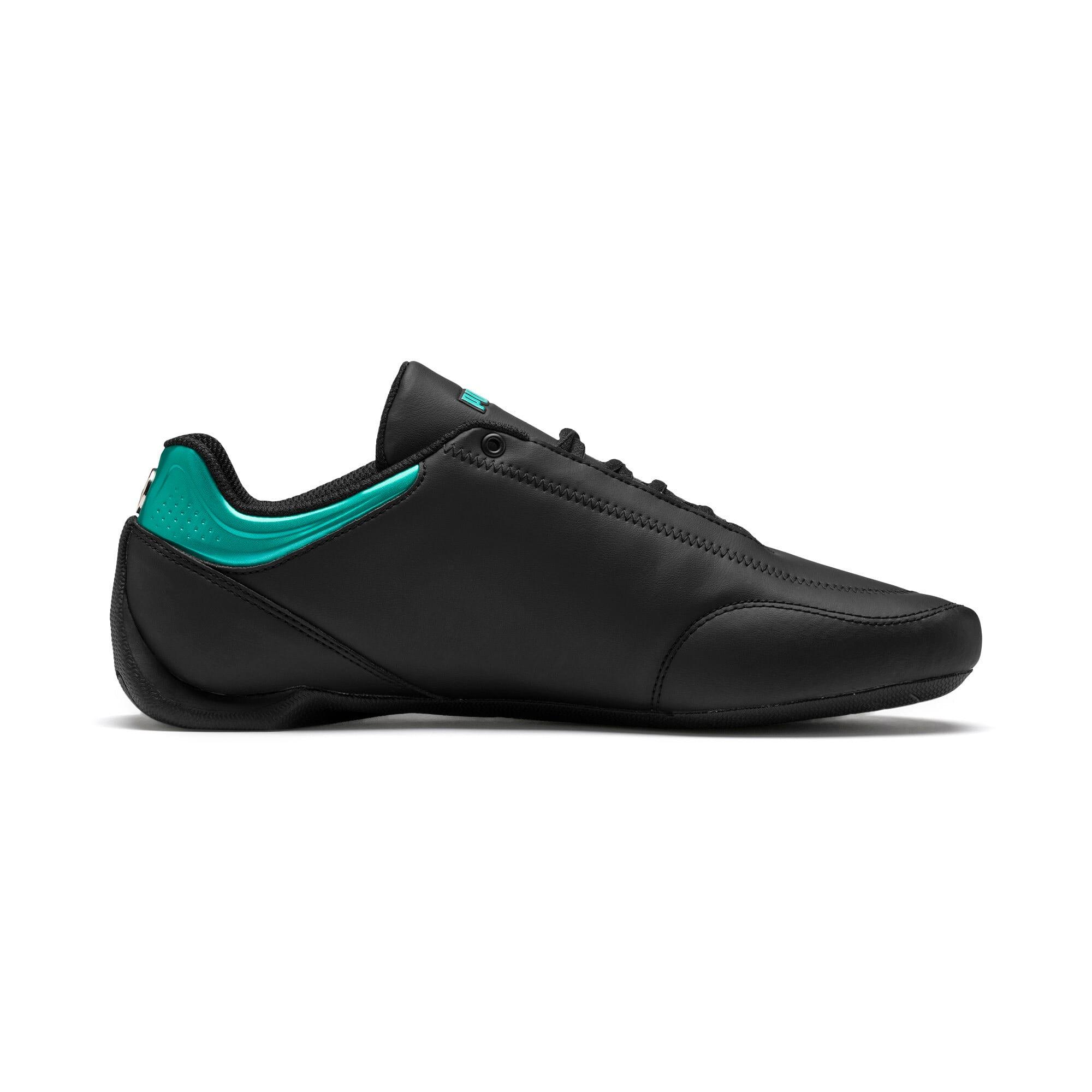 Thumbnail 6 of Mercedes AMG Petronas Future Kart Cat Shoes, Puma Black-Smoked Pearl, medium