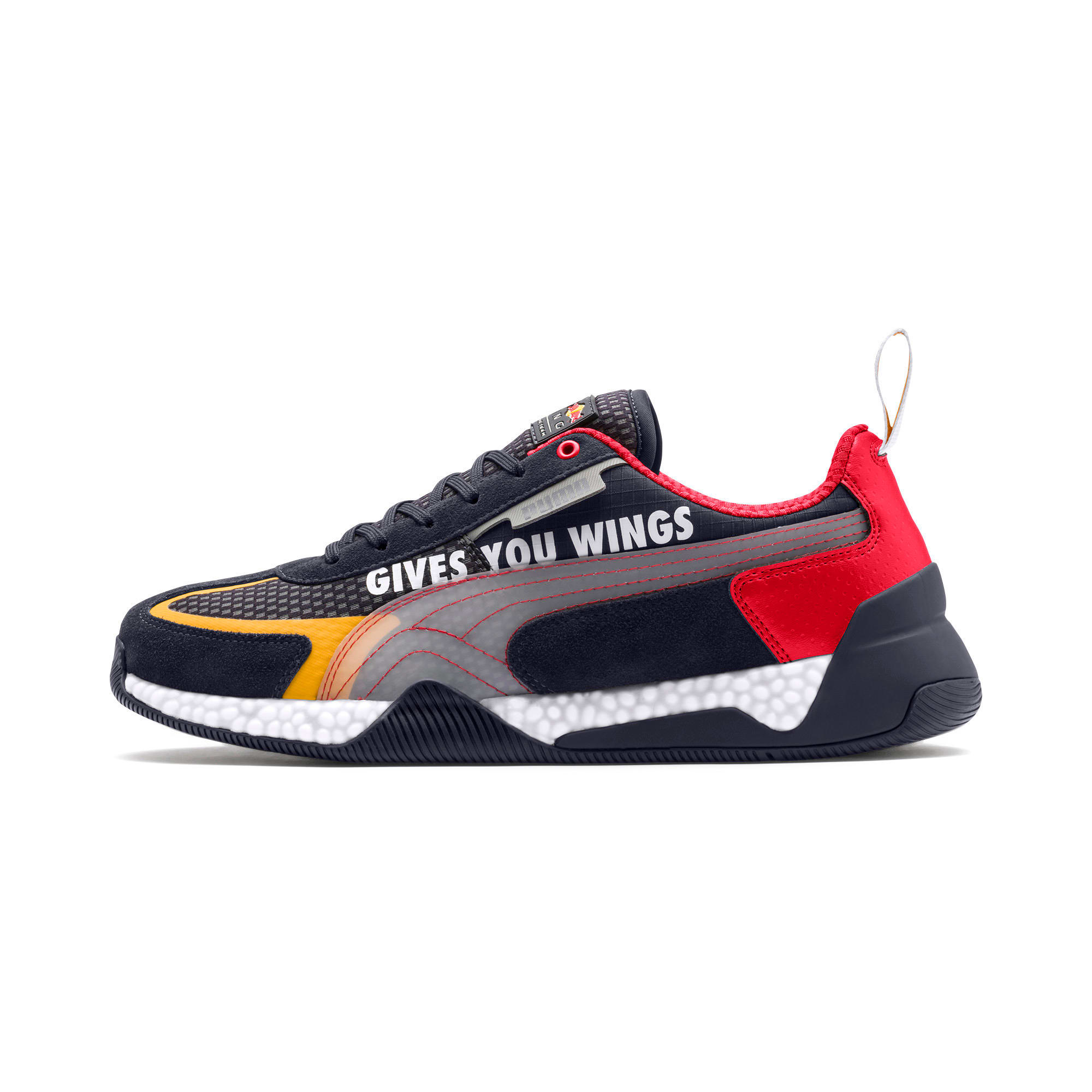 Thumbnail 1 of Red Bull Racing Speed HYBRID Men's Trainers, NIGHT SKY-White-Chinese Red, medium