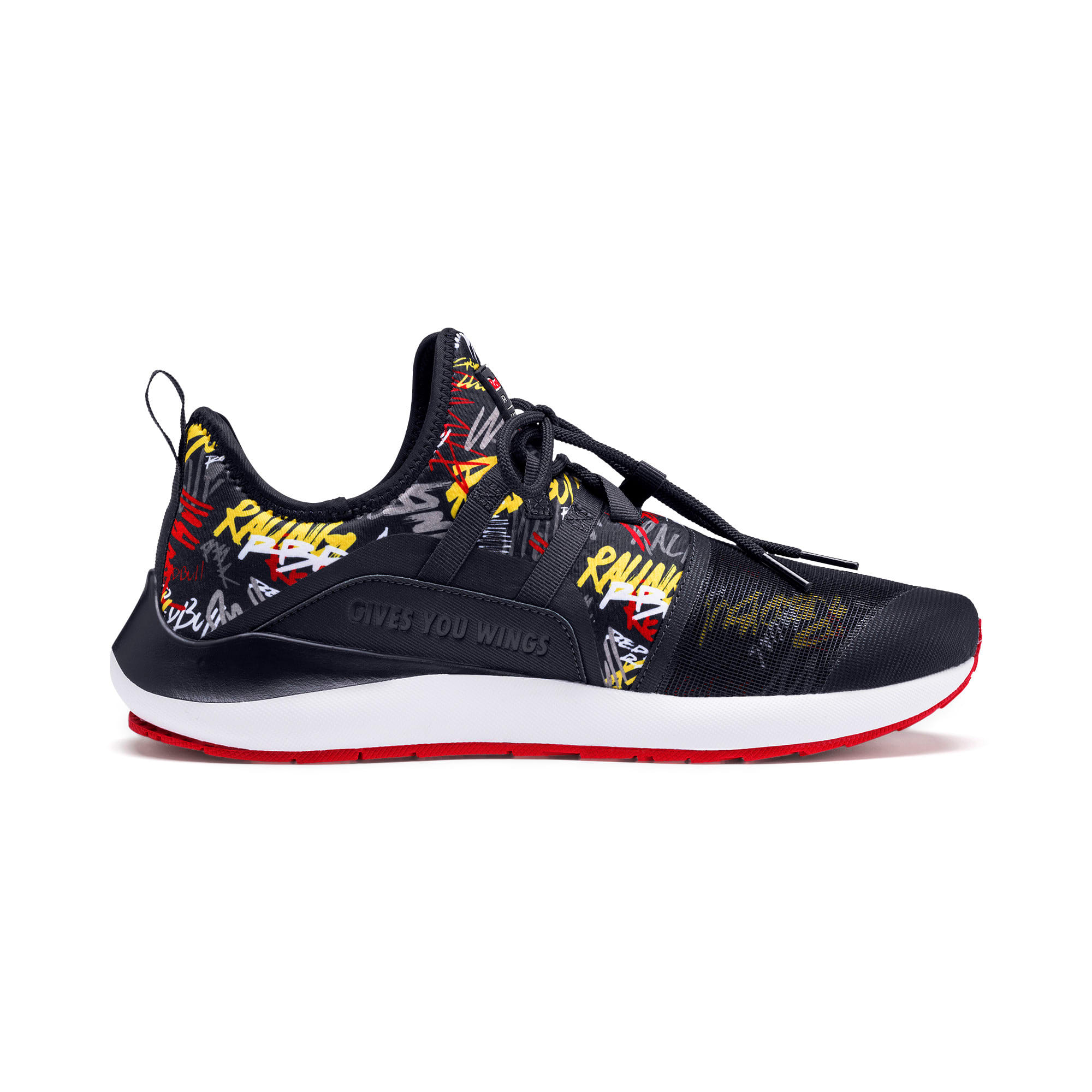 Thumbnail 6 of Red Bull Racing Evo Cat II Graphic Men's Training Shoes, NIGHT SKY-White-Chinese Red, medium