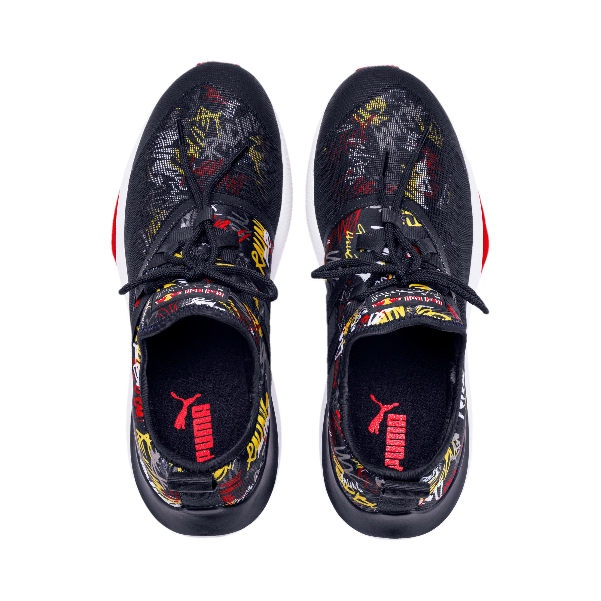 Thumbnail 7 of Red Bull Racing Evo Cat II Graphic Men's Training Shoes, NIGHT SKY-White-Chinese Red, medium