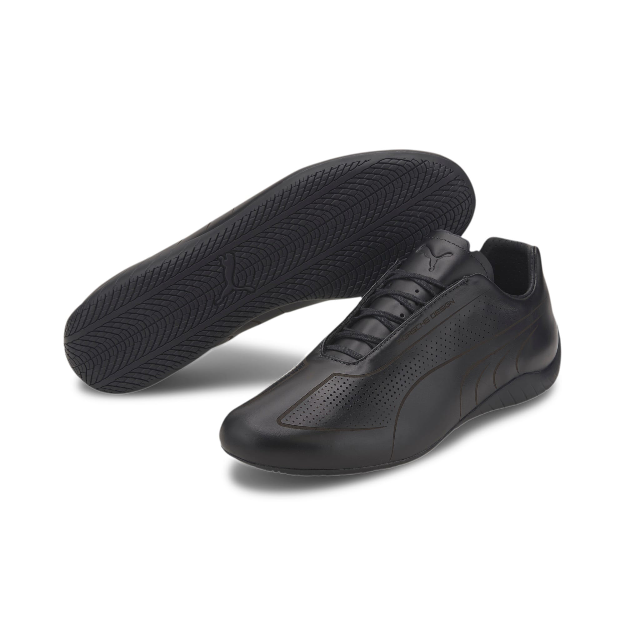 Thumbnail 3 of Porsche Design Speedcat Lux Men's Trainers, Jet Black-Jet Black-Jet Blk, medium