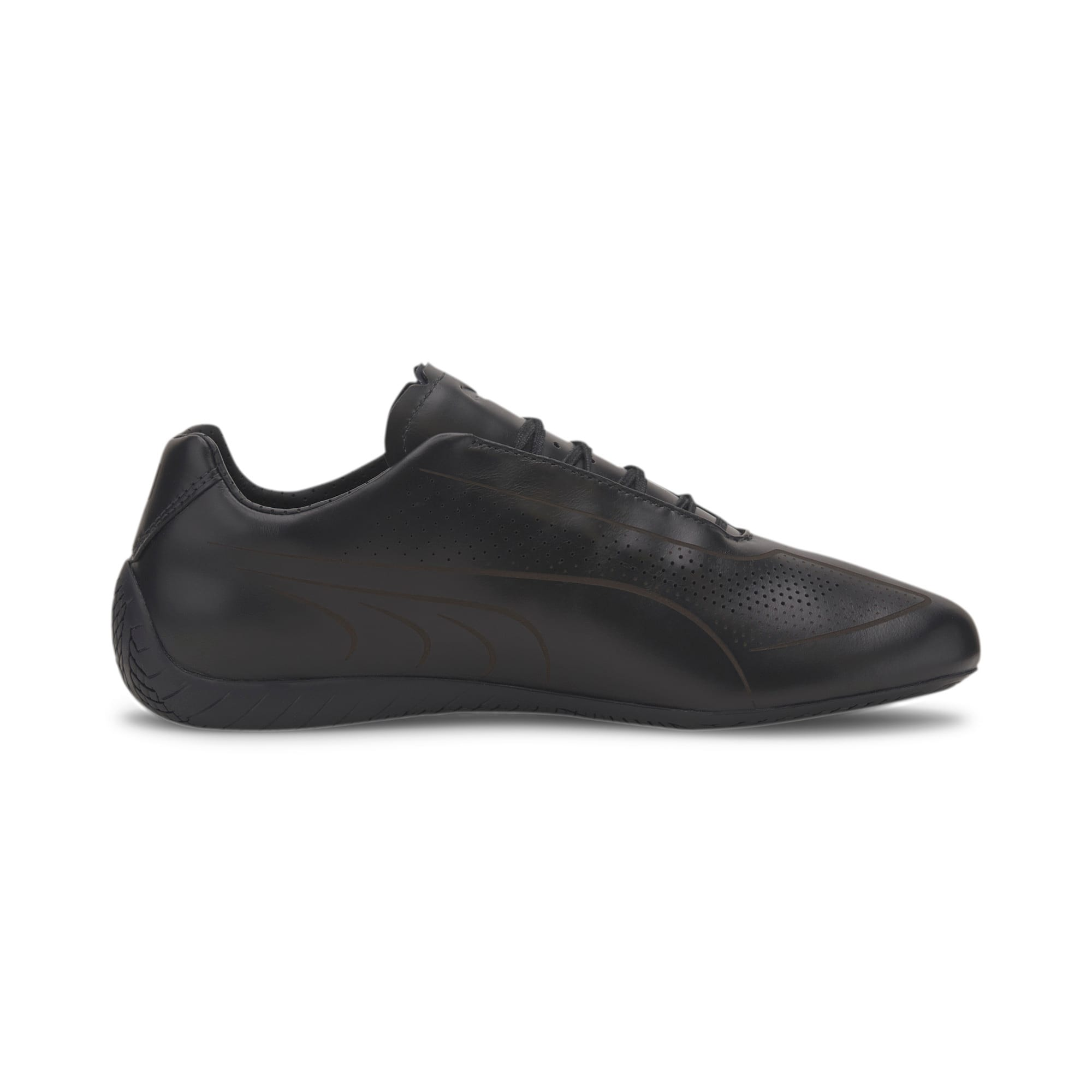 Thumbnail 6 of Porsche Design Speedcat Lux Men's Trainers, Jet Black-Jet Black-Jet Blk, medium