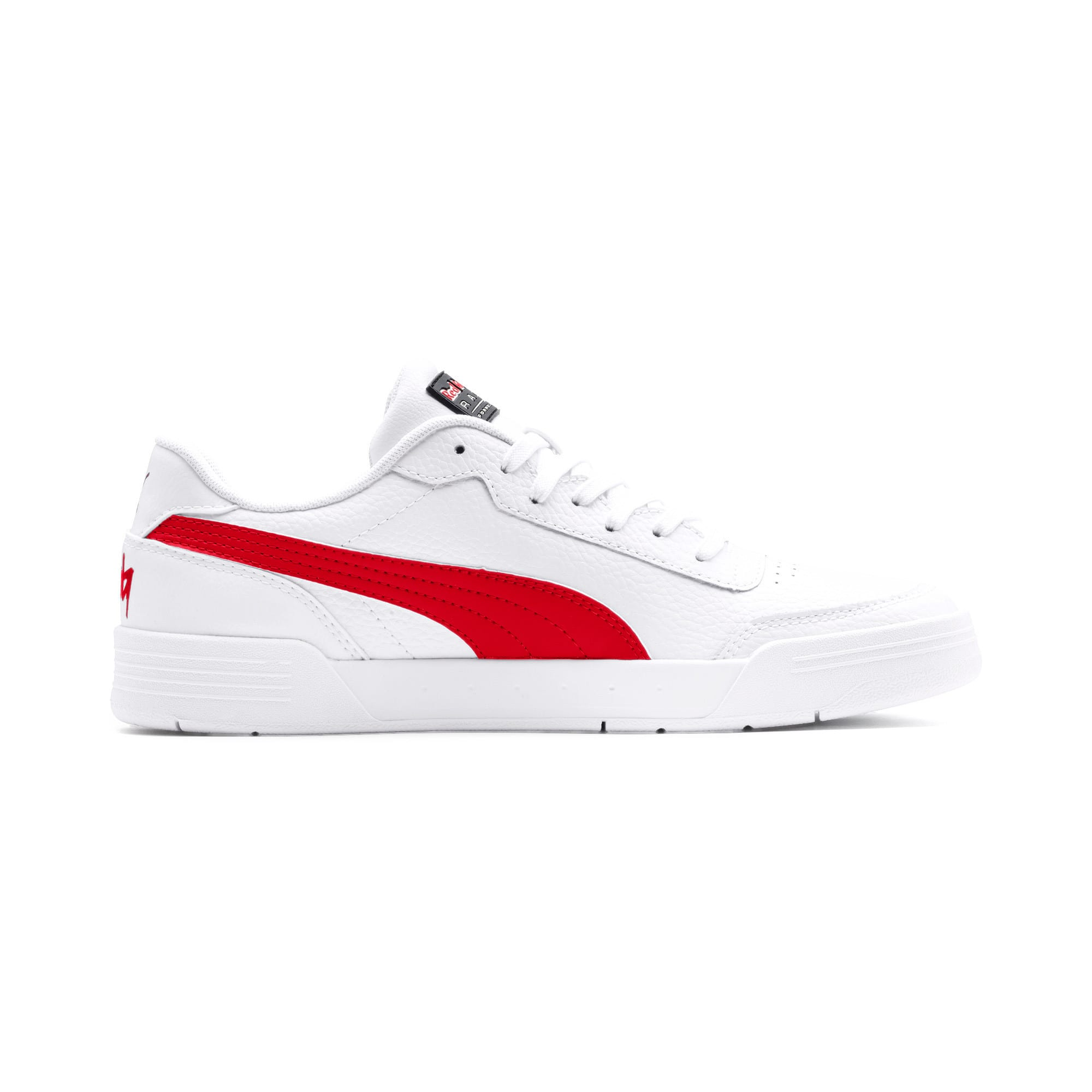 Thumbnail 6 of Red Bull Racing Caracal Trainers, Puma White-Chinese Red-White, medium