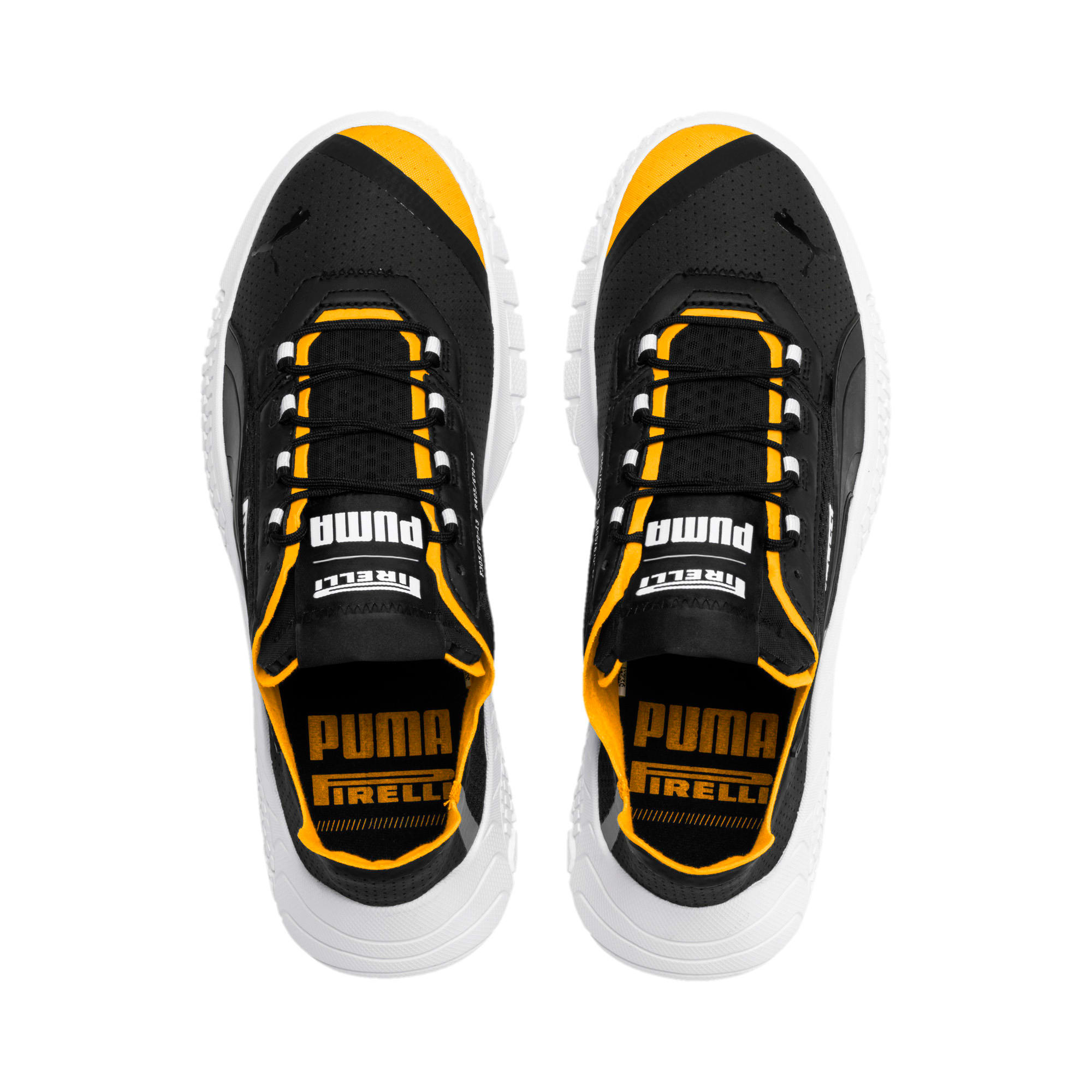 Thumbnail 7 of PUMA x PIRELLI Replicat-X Sneaker, Puma Black-Puma White-Zinnia, medium