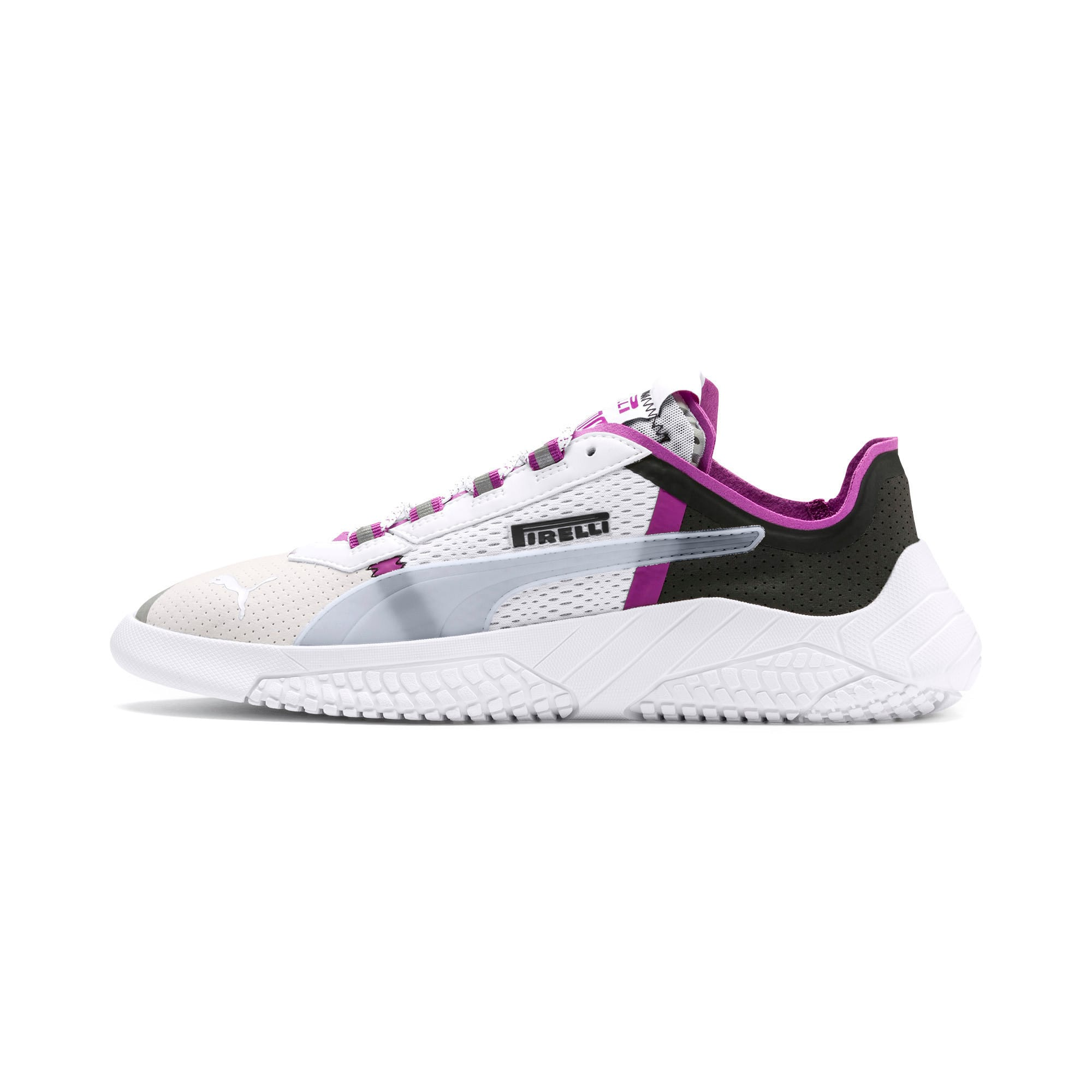 Thumbnail 1 of Pirelli Replicat-X Trainers, White-Hyacinth Viol-Red, medium