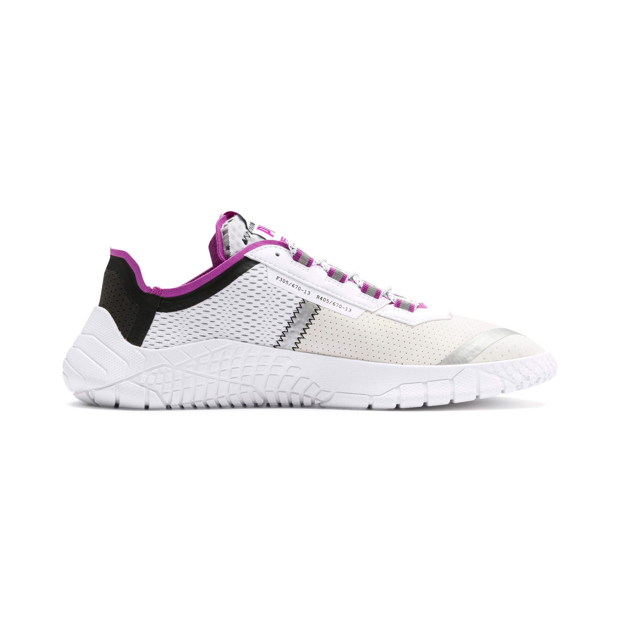 Thumbnail 6 of Pirelli Replicat-X Trainers, White-Hyacinth Viol-Red, medium