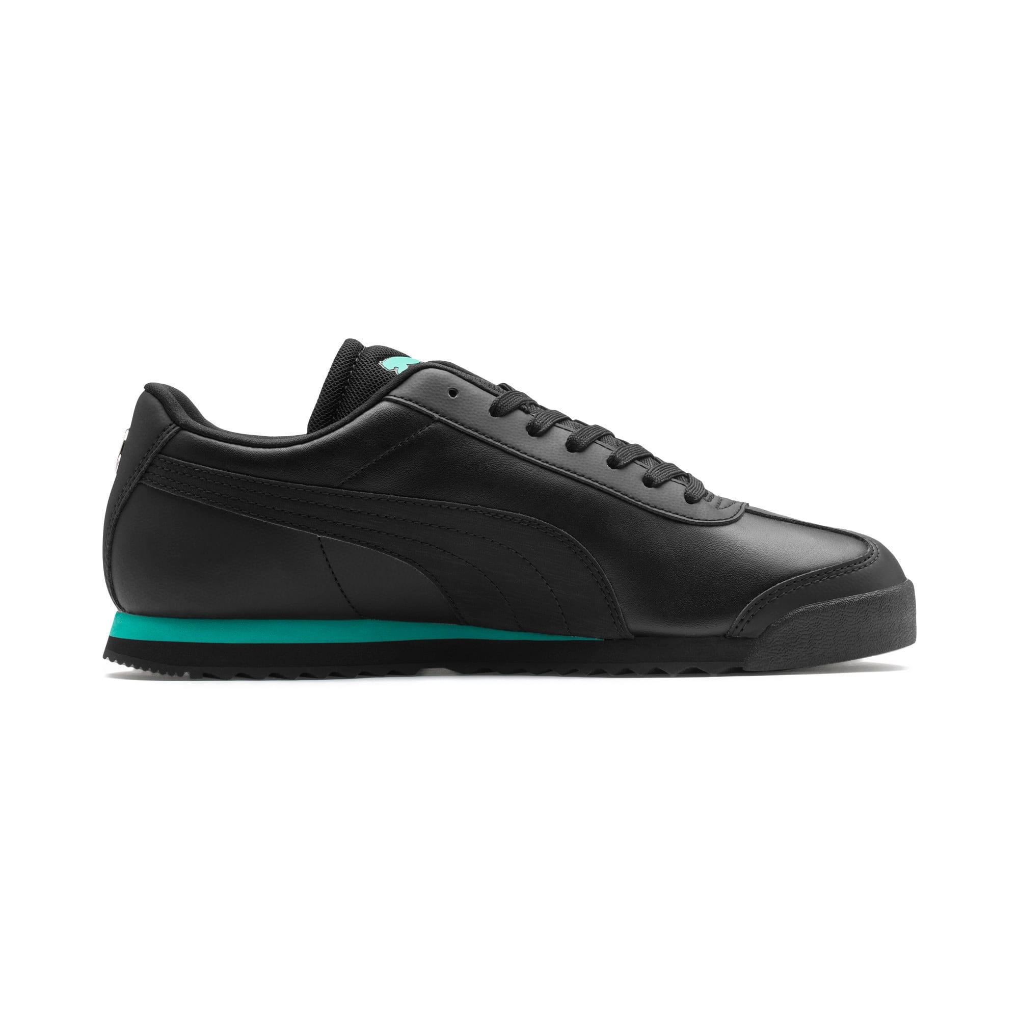 Thumbnail 6 of Mercedes AMG Petronas Roma Men's Sneakers, Puma Black-Puma Black, medium