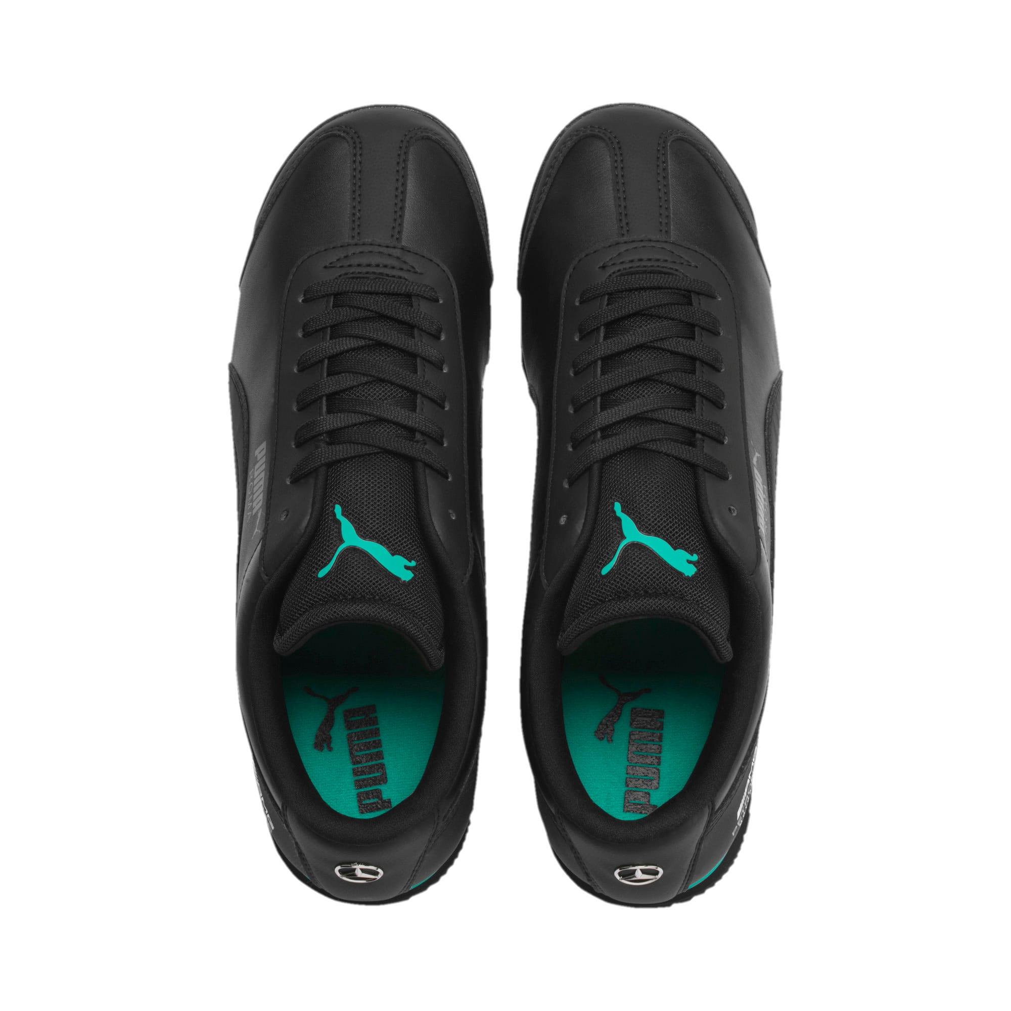 Thumbnail 7 of Mercedes AMG Petronas Roma Men's Sneakers, Puma Black-Puma Black, medium