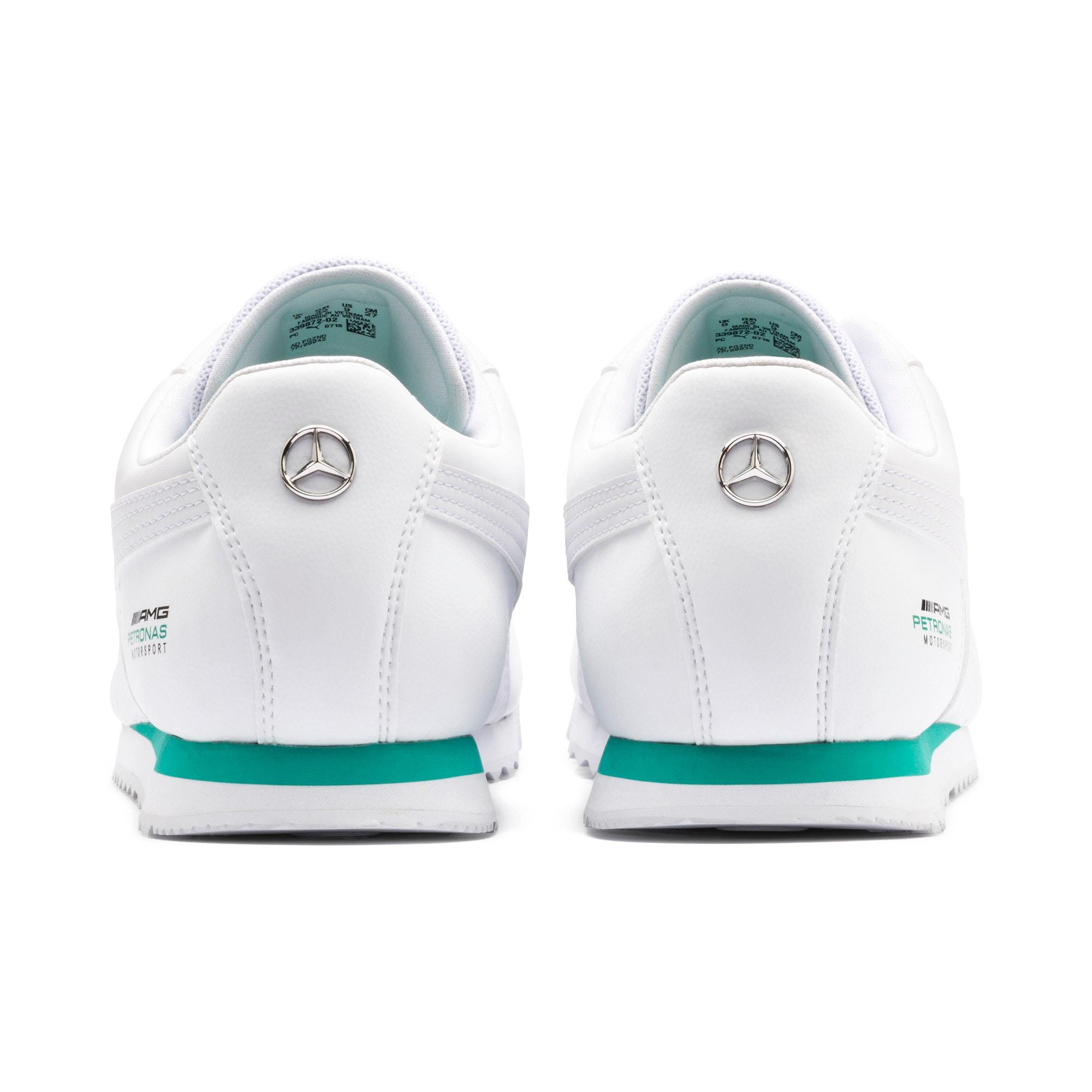 Thumbnail 4 of Mercedes AMG Petronas Roma Men's Sneakers, Puma White-Puma White, medium