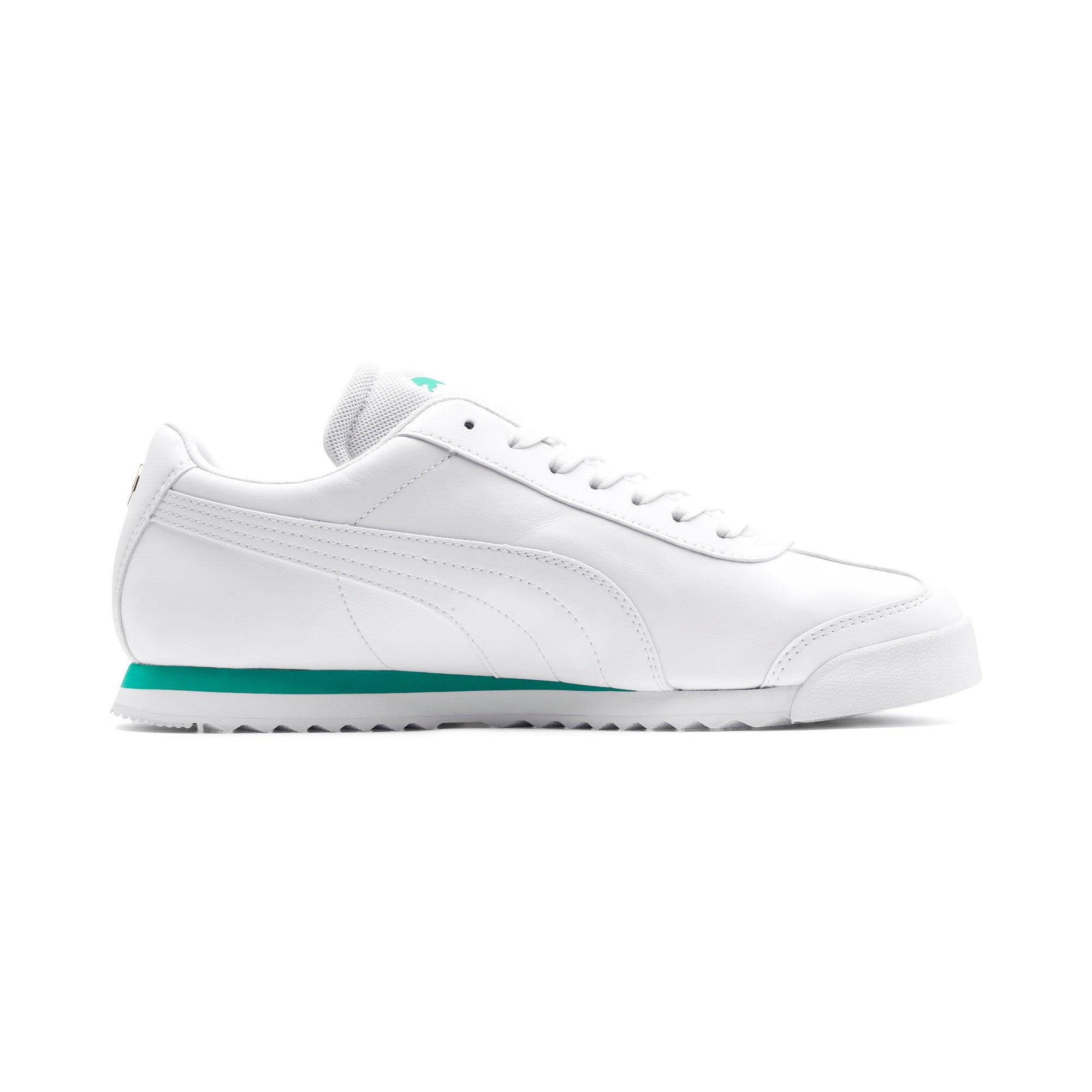 Thumbnail 6 of Mercedes AMG Petronas Roma Men's Sneakers, Puma White-Puma White, medium