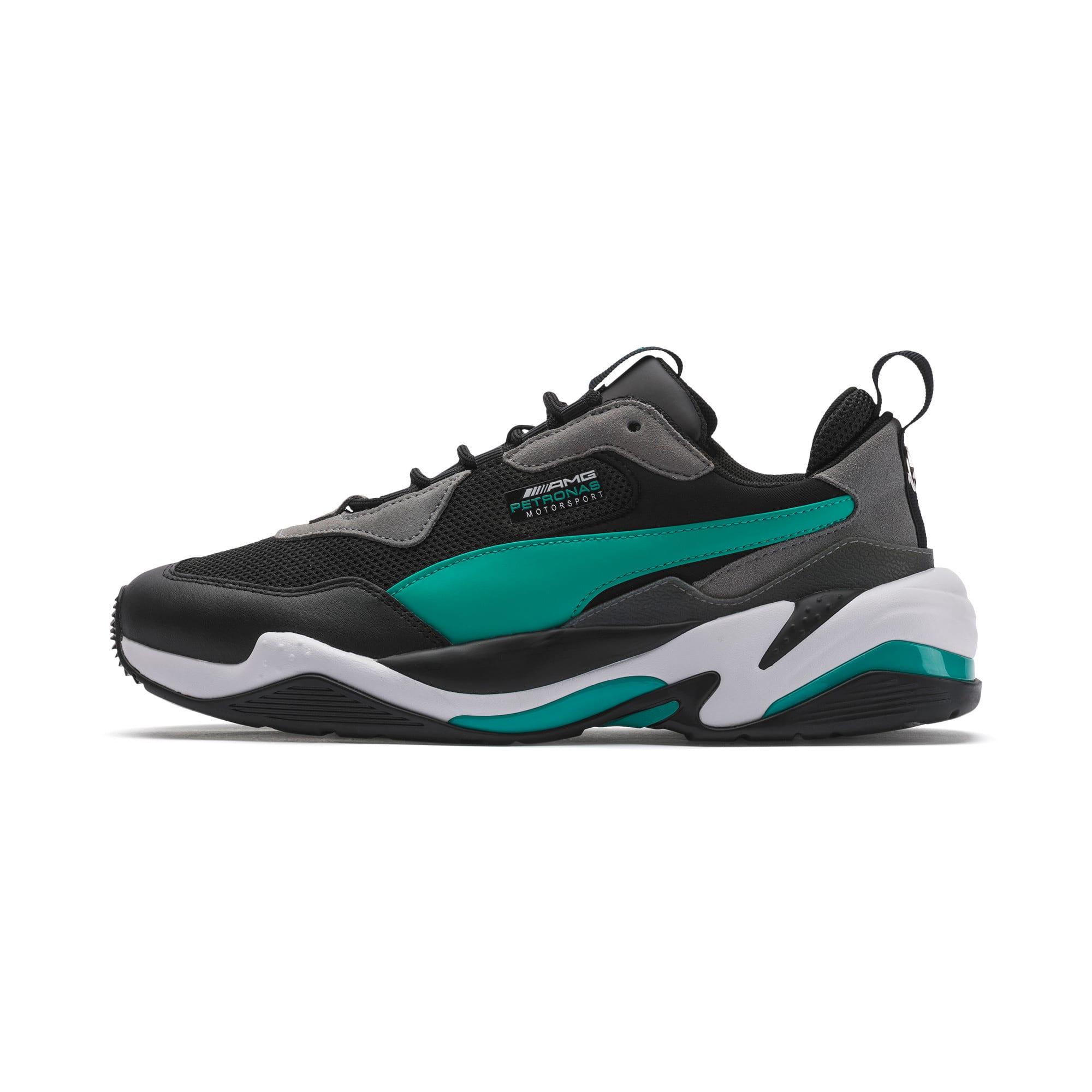 Puma Thunder Leder Sale Sneaker Herren Schwarz