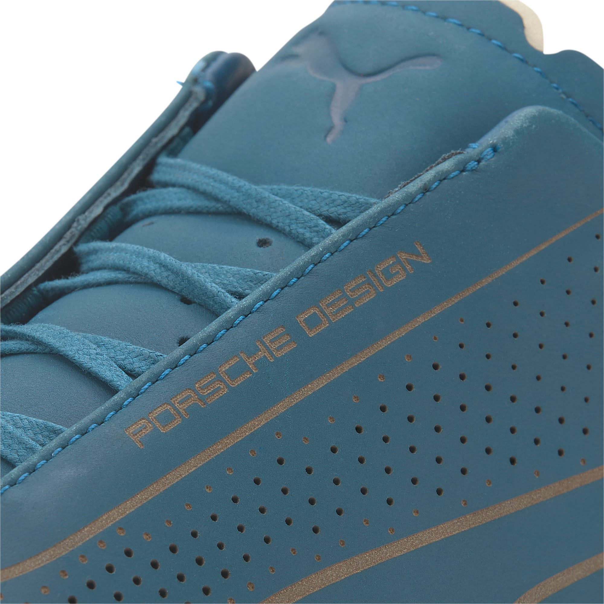 Thumbnail 7 of Porsche Design Speedcat Lux Men's Trainers, Moroccan Blue-Moroccan Blue, medium