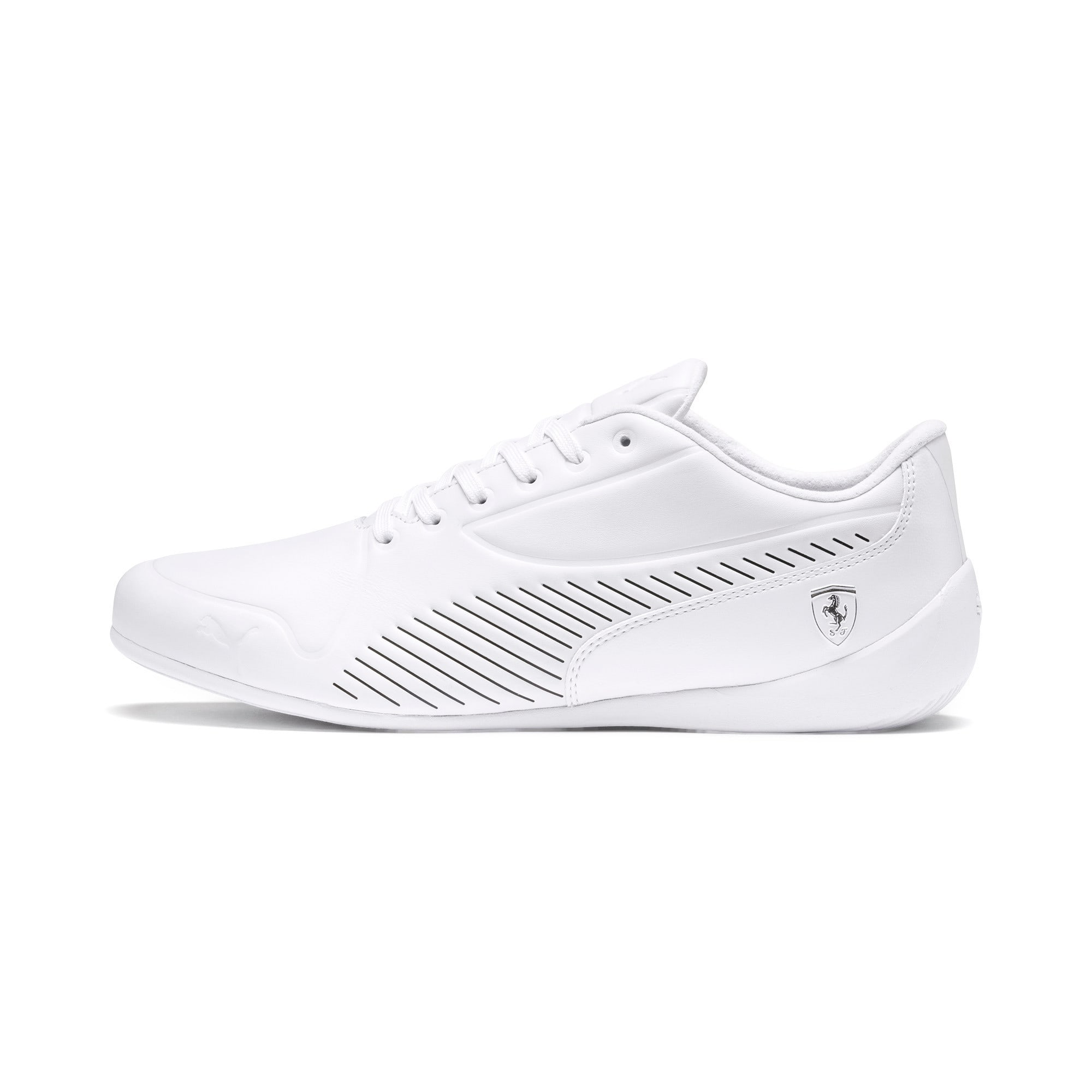 Thumbnail 1 of Scuderia Ferrari Drift Cat 7S Ultra LS Men's Shoes, Puma White-Pastel Parchment, medium